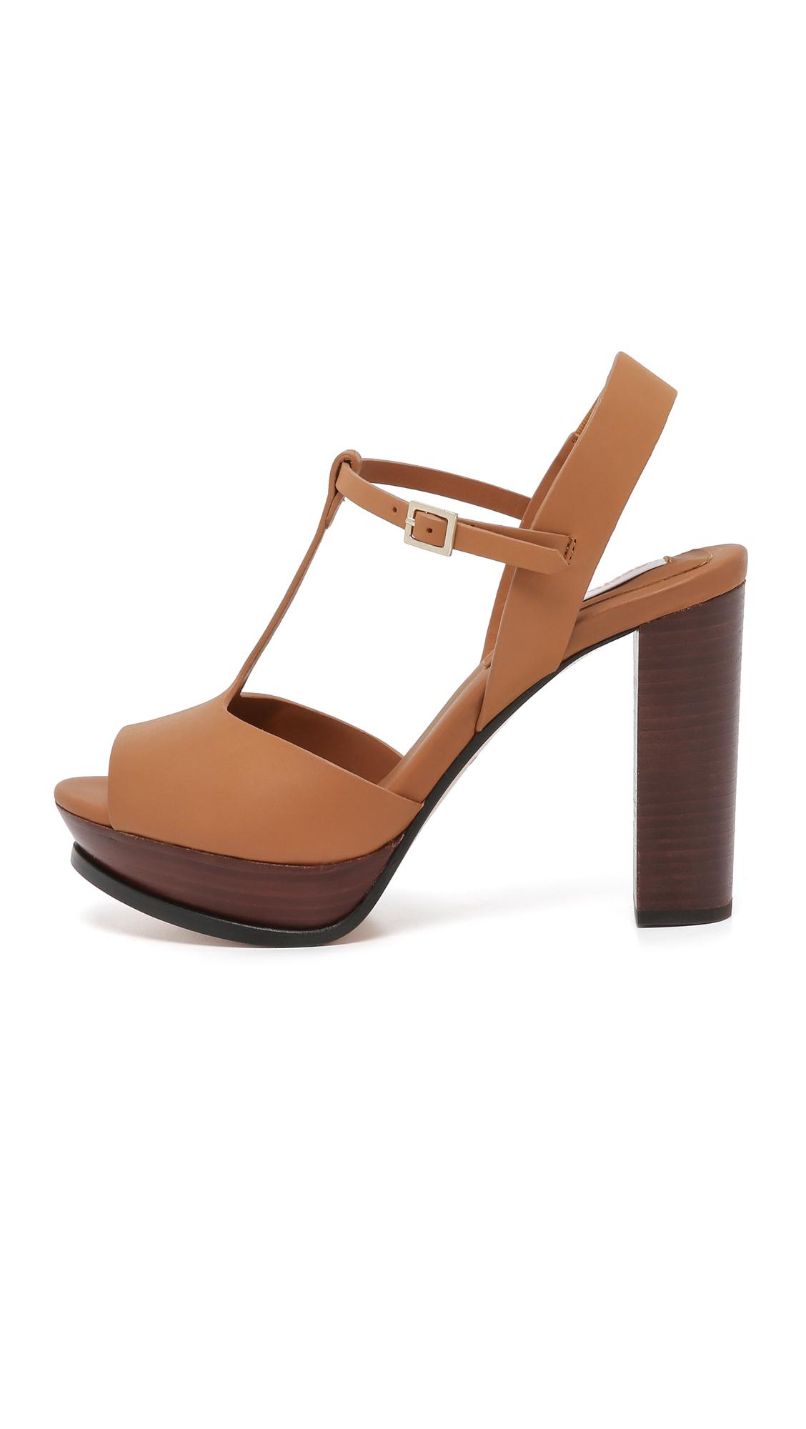 69d6b1c43682 Lyst - See By Chloé Alex Platform Sandals in Brown