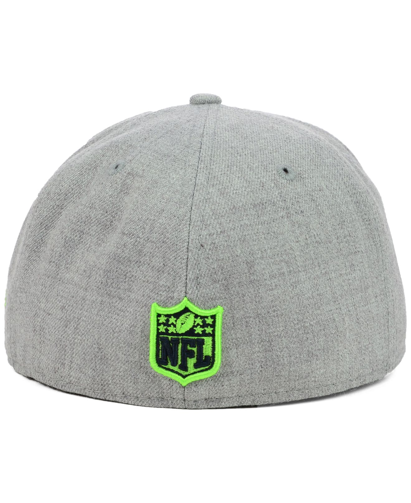 finest selection 8532a 26ae9 KTZ Seattle Seahawks Heather 2-Tone 59Fifty Cap in Gray for Men - Lyst