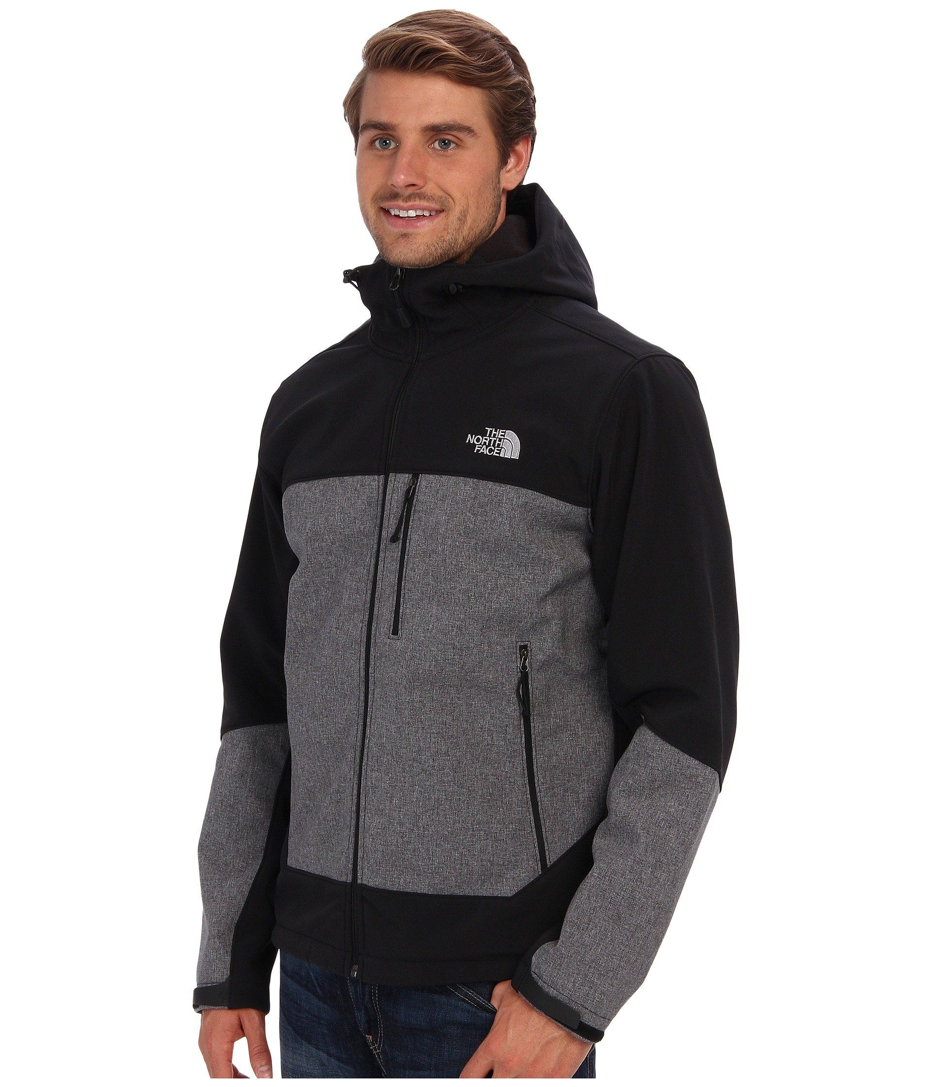 4f2870efe The North Face Black Apex Bionic Hoodie for men