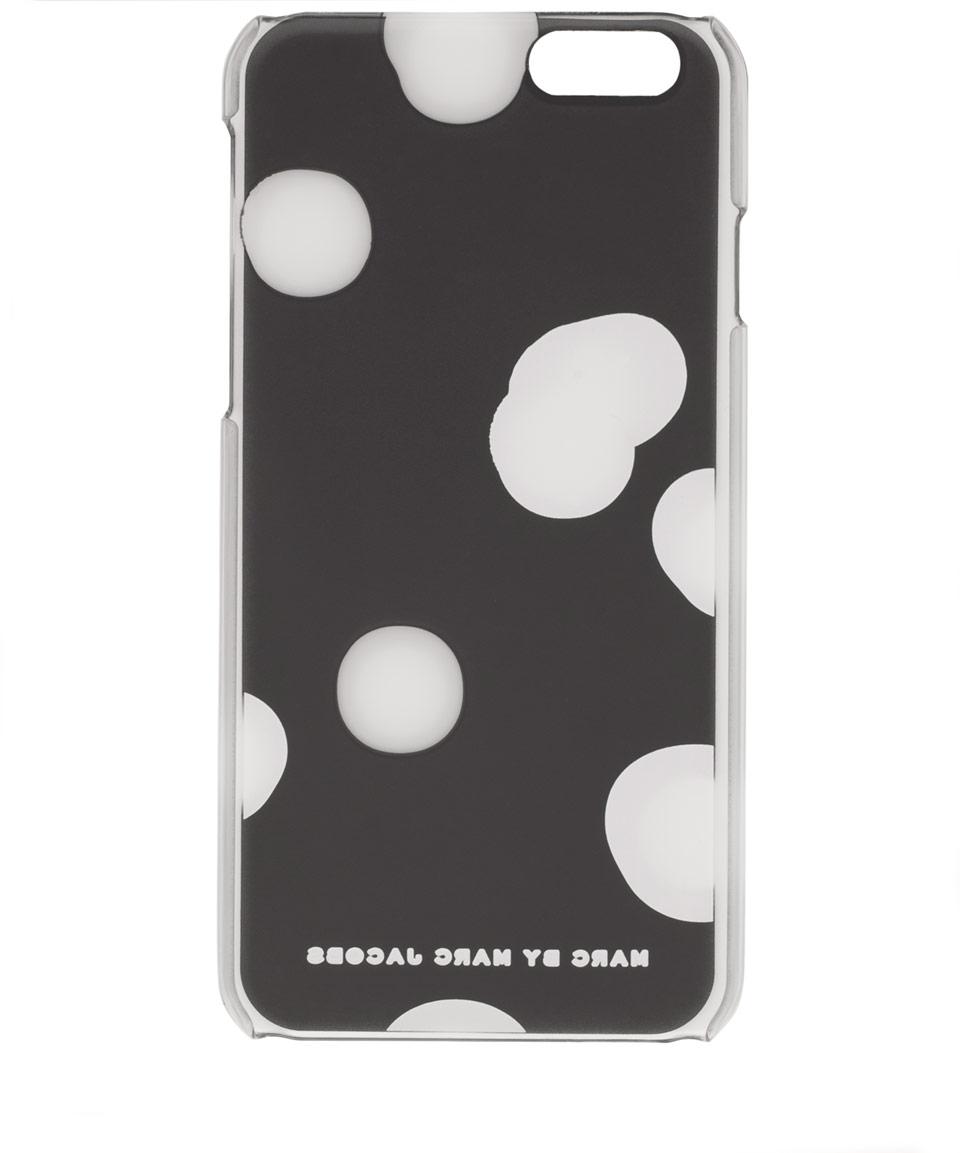 marc by marc jacobs black blurred dot iphone 6 case in. Black Bedroom Furniture Sets. Home Design Ideas