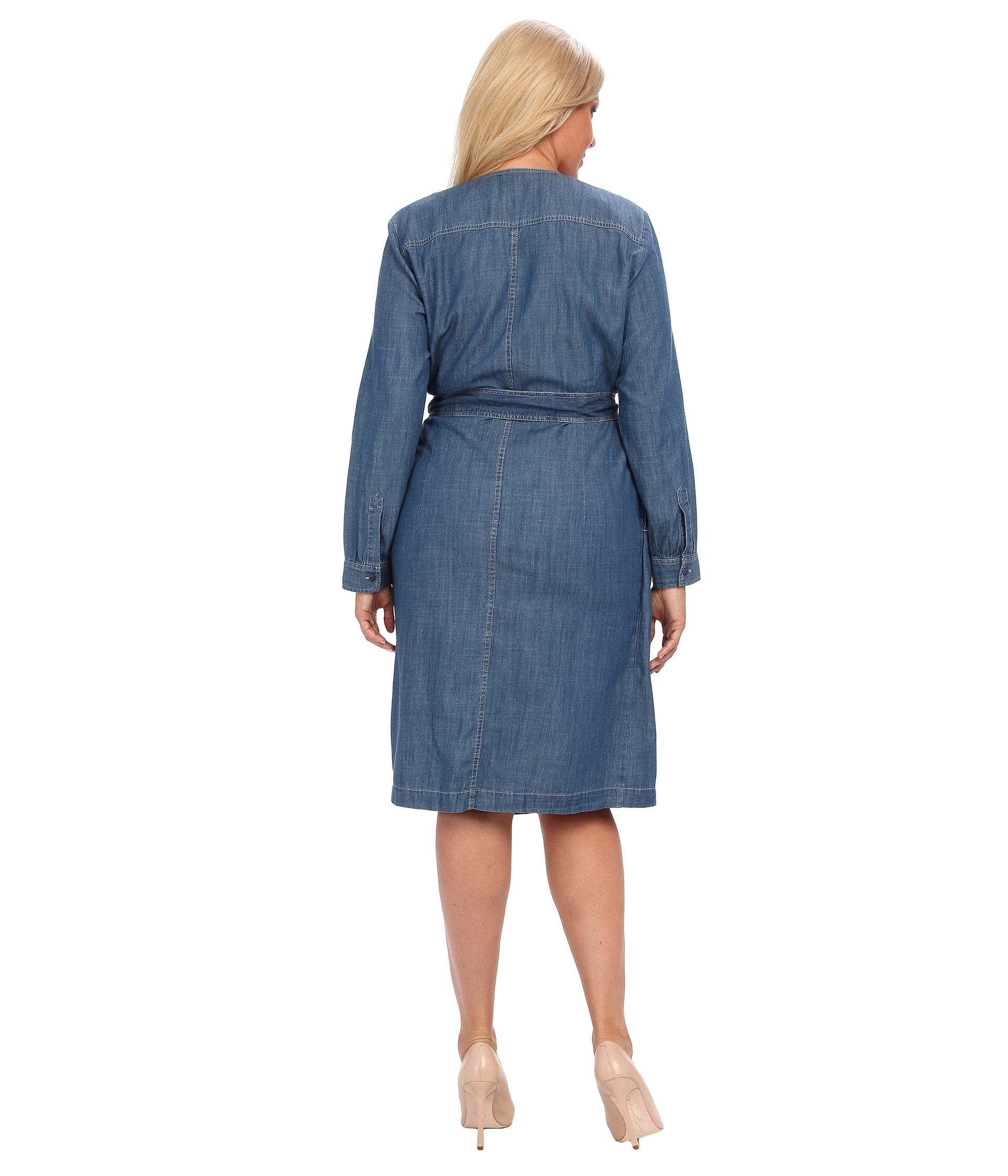 Pendleton Plus Size Reverie Wrap Dress In Denim Blue Lyst