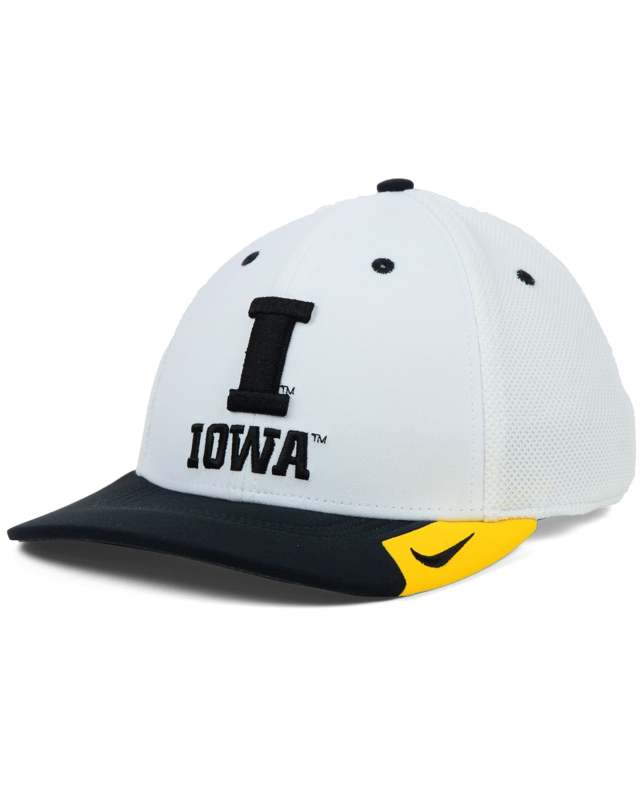162d2a78a01 Lyst - Nike Iowa Hawkeyes Ncaa Conference Swf Cap in White for Men