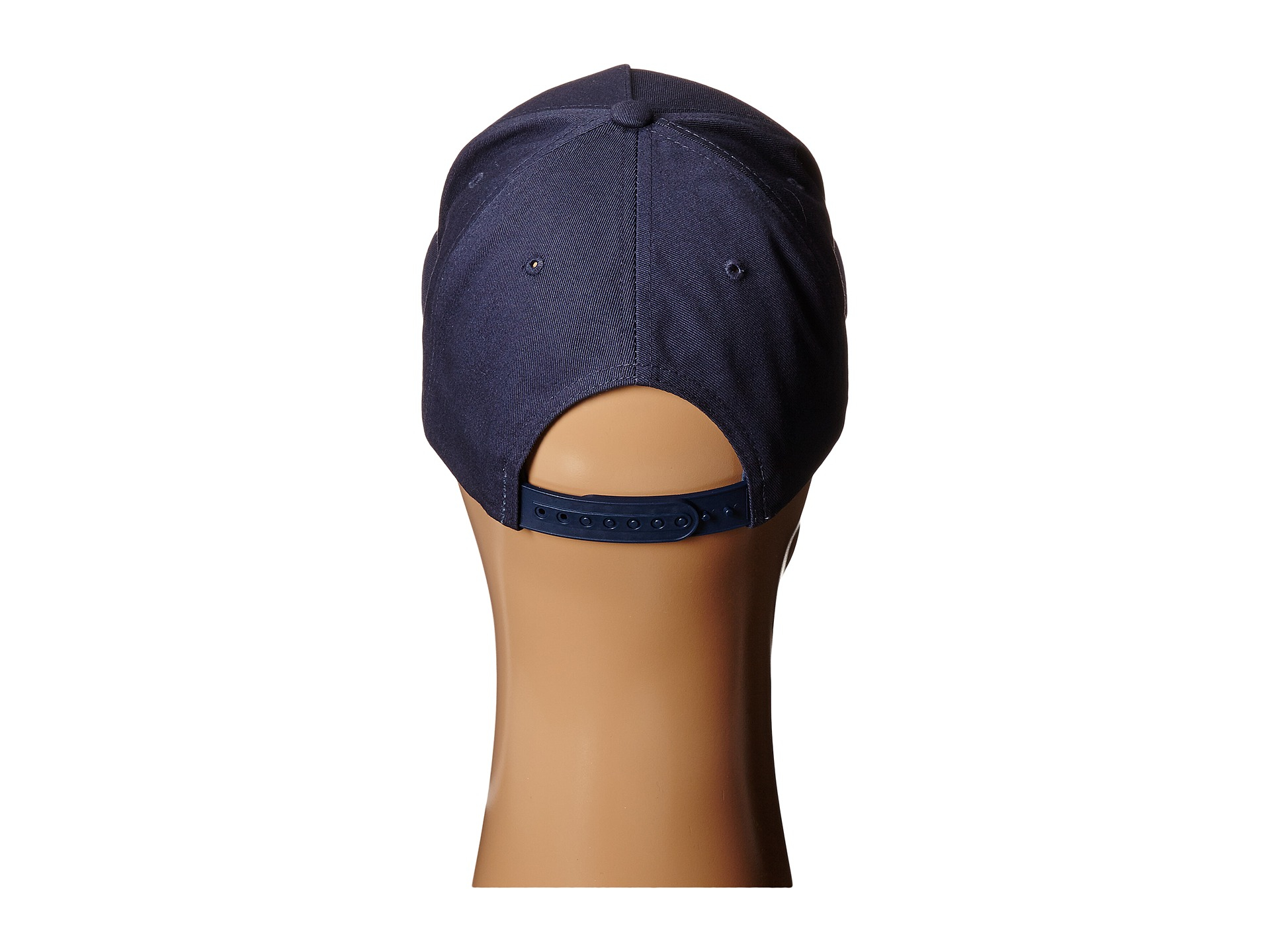 Lyst - Obey Downtown Snapback Hat in Blue for Men cd1be9063d91
