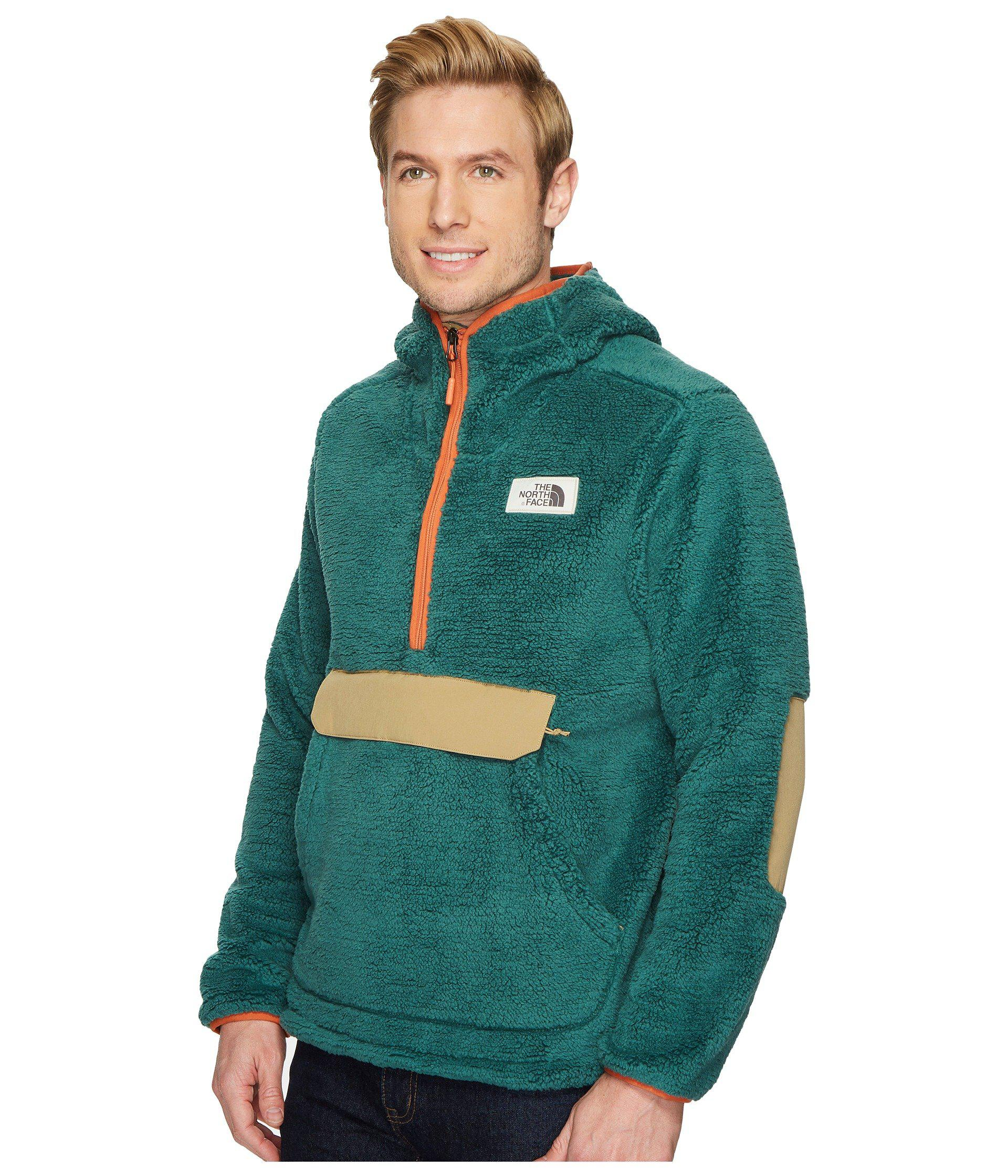 803a65f6885e Lyst - The North Face Campshire Pullover Hoodie in Green for Men - Save 30%