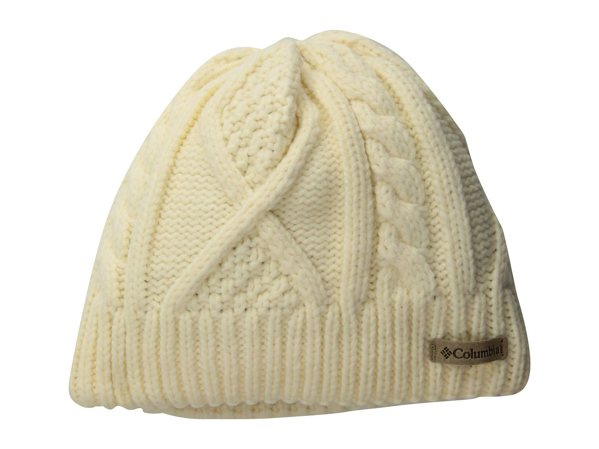 f232c0108b2b2 Lyst - Columbia Cabled Cutietm Beanie in Natural - Save ...