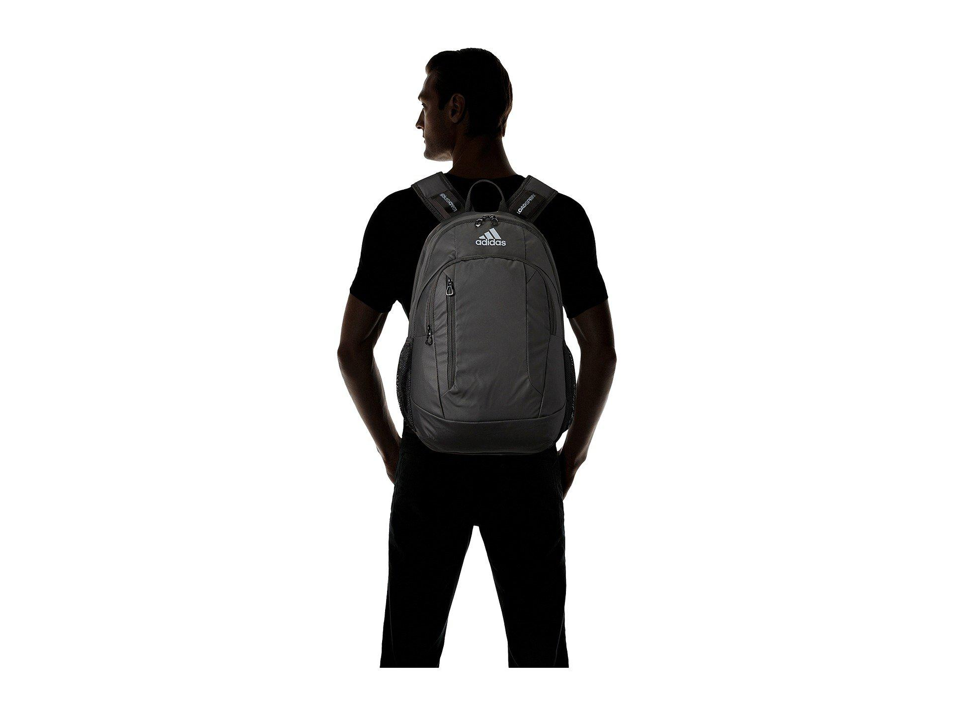 742ea6c03d1 adidas Mission Plus Backpack in Black - Lyst