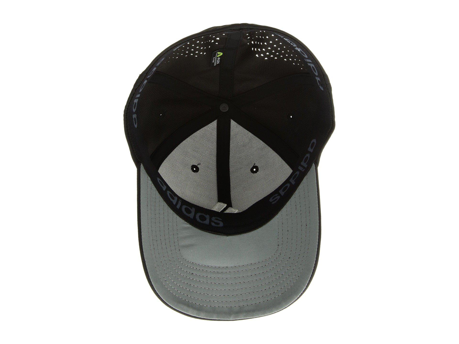 Adidas - Black Gameday Stretch Fit Cap for Men - Lyst. View fullscreen f4f03812ed7c
