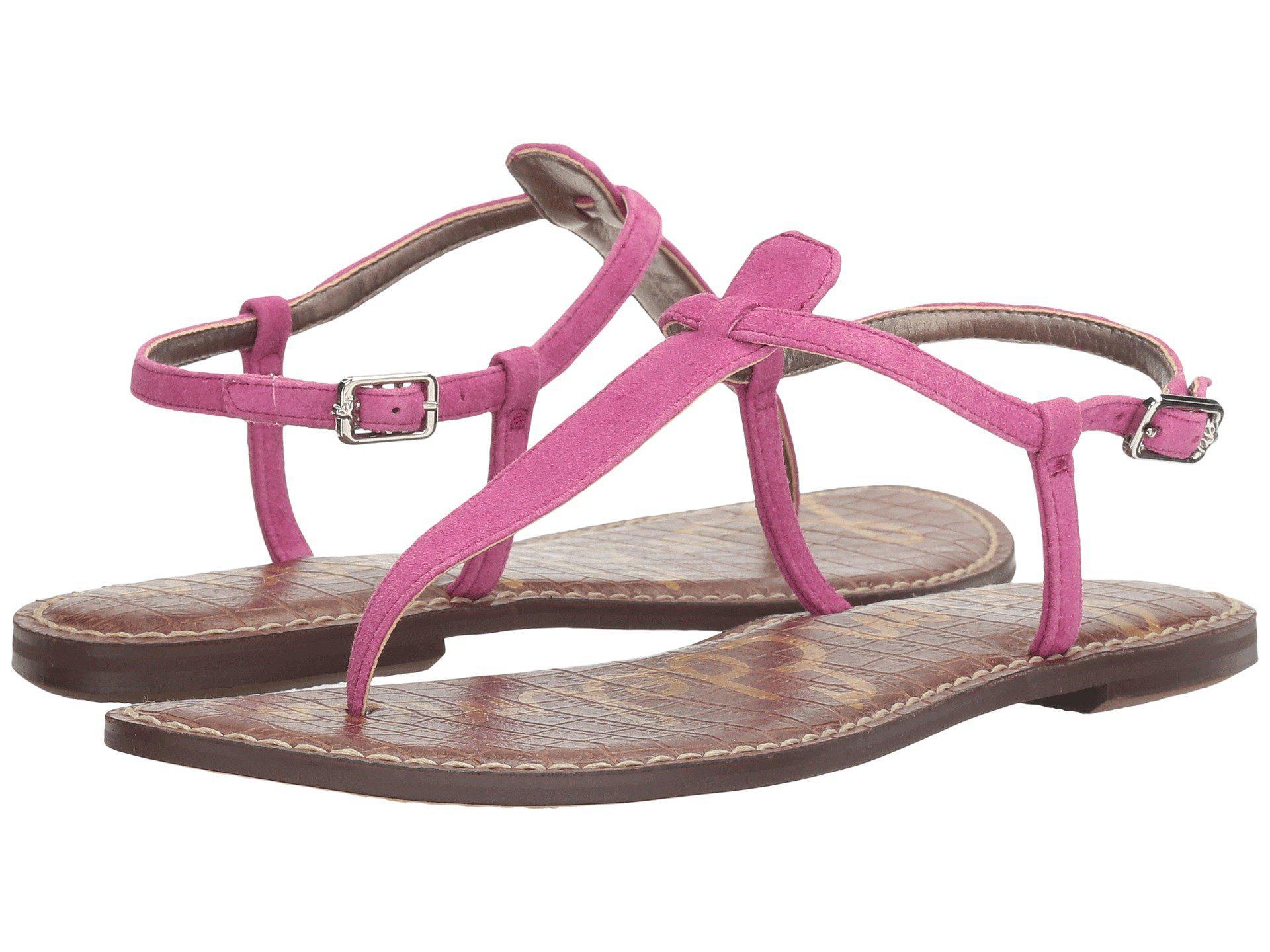 c484fea698e63 Lyst - Sam Edelman Gigi Thong Sandal in Pink