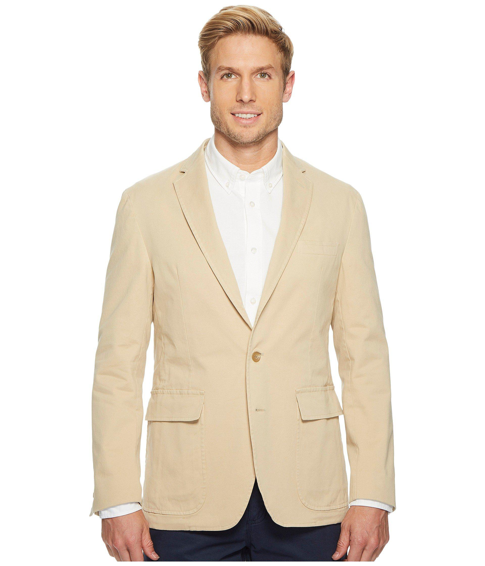3bbf8fabfca Lyst - Polo Ralph Lauren Garment Dyed Cotton Stretch Sportcoat in ...