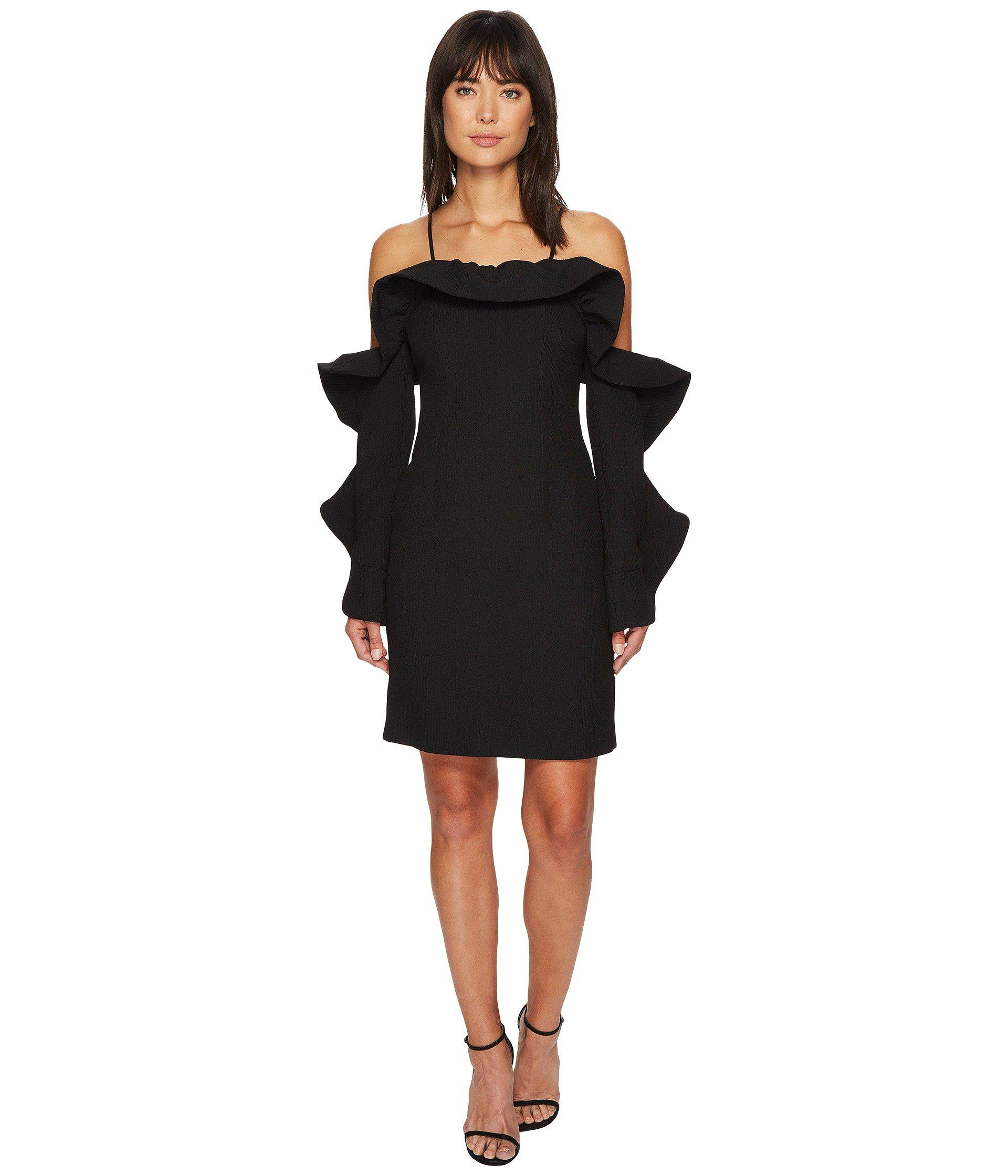 Lyst - Keepsake Messages Long Sleeve Mini Dress in Black - Save 50%