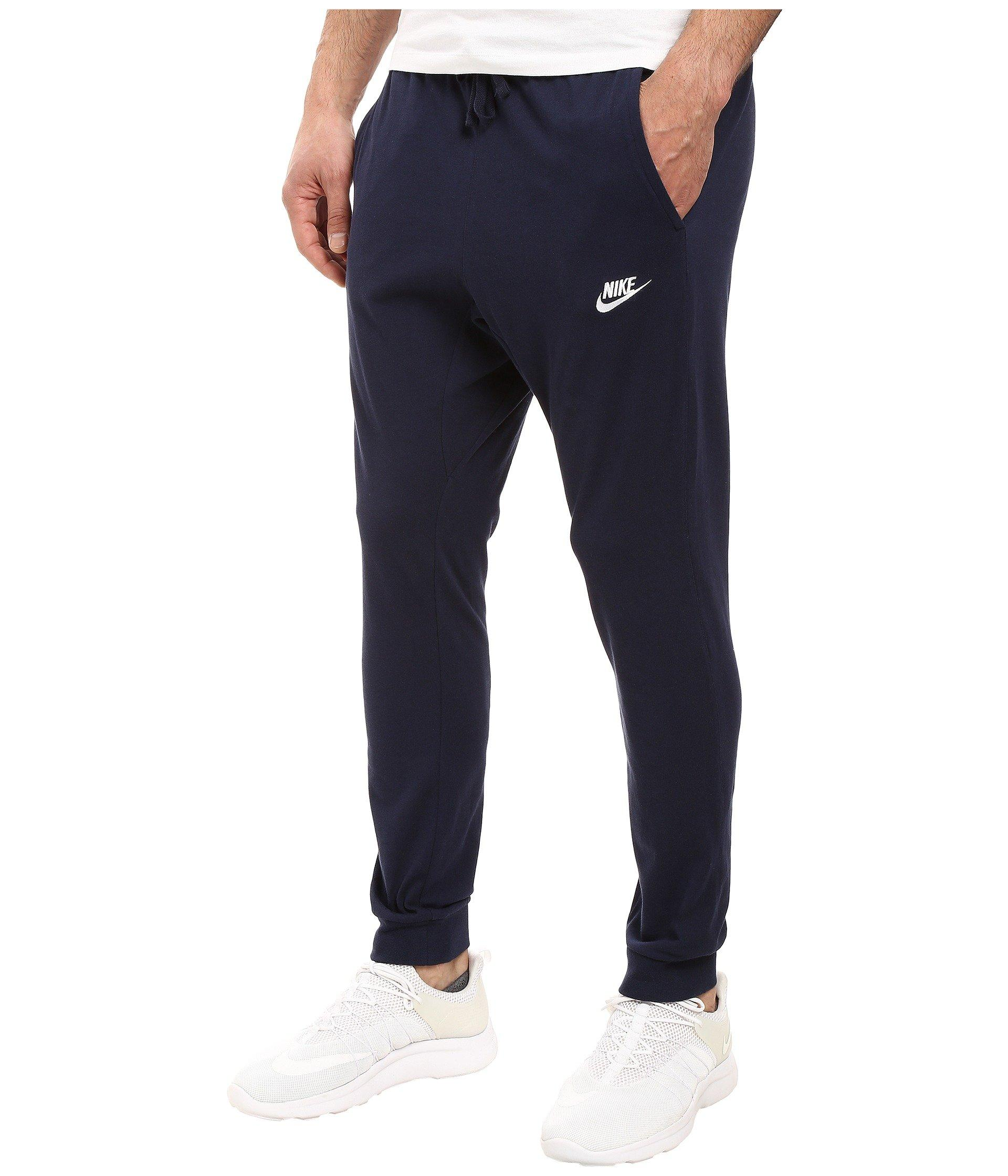 971139f9b473 Lyst - Nike Club Jersey Jogger Pant in Blue for Men