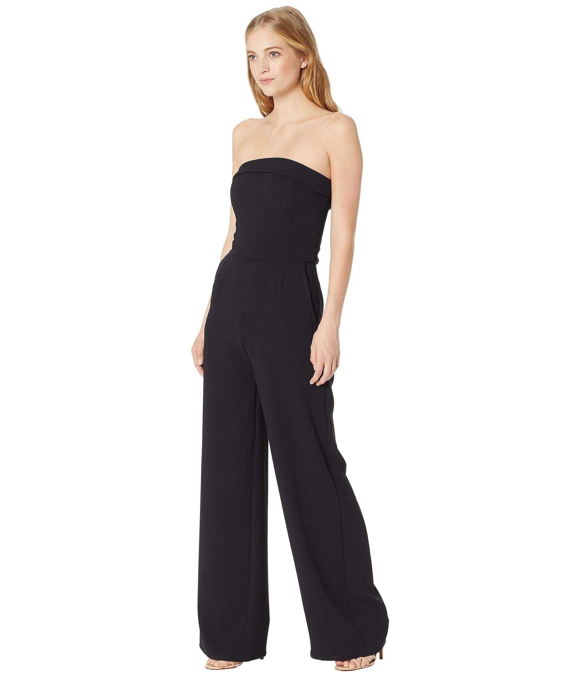 6575ac2d907f Lyst - Cupcakes And Cashmere Carissa Sleeveless Jumpsuit in Black - Save 62%