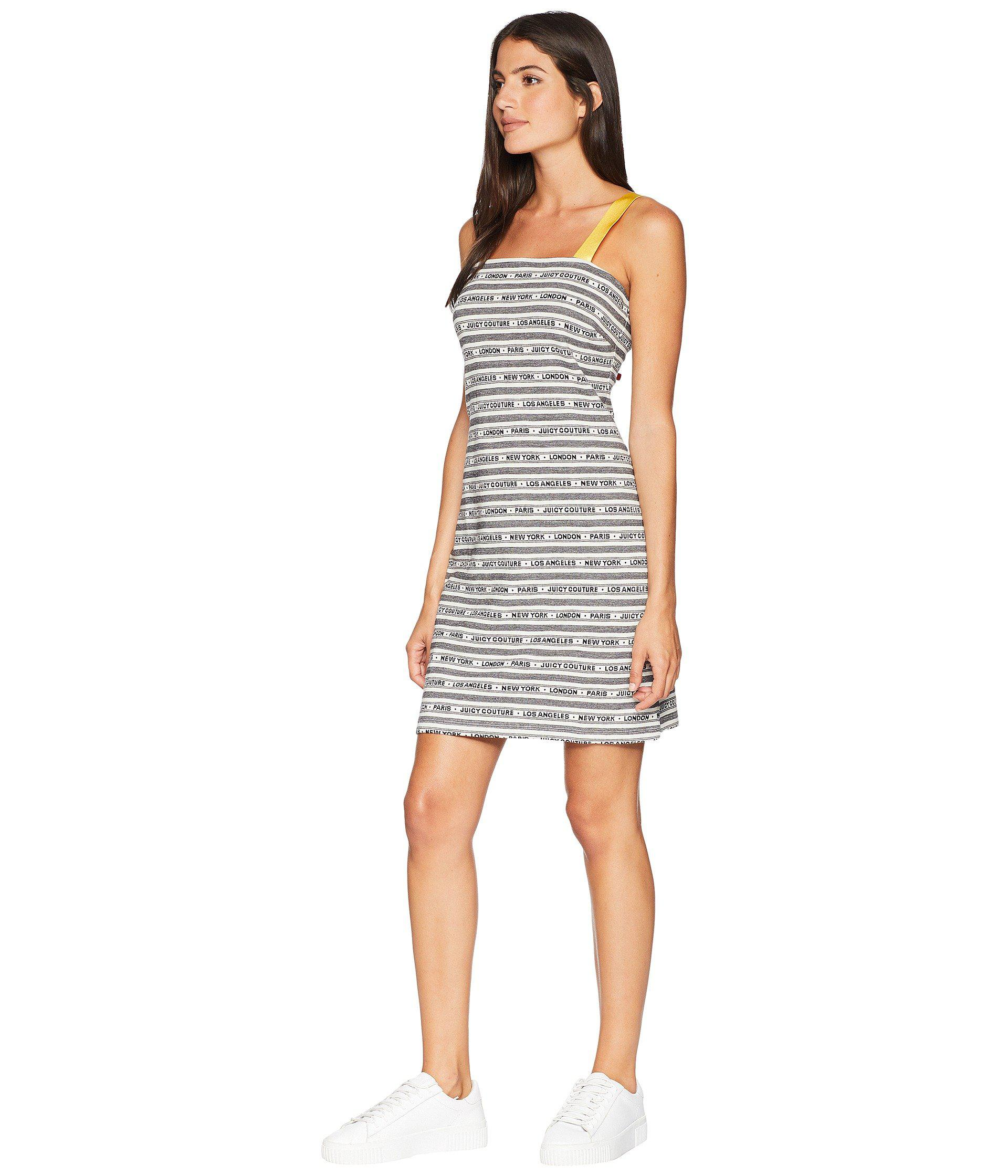 Lyst - Juicy Couture Juicy Cities Jacquard Dress in Black c5665d0b4