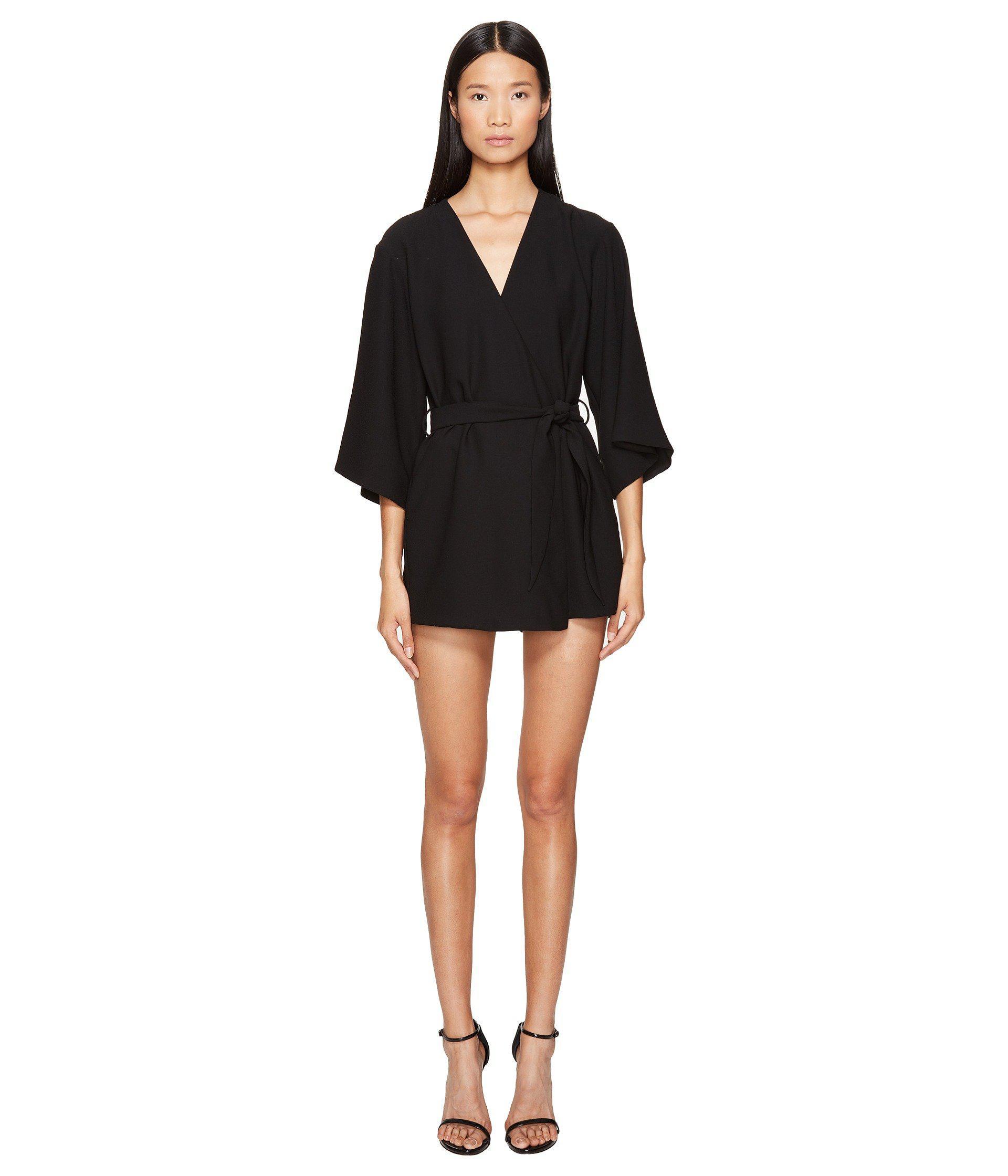 ec257a6f71e Lyst - Lamarque Jamari Kimono Jumpsuit in Black