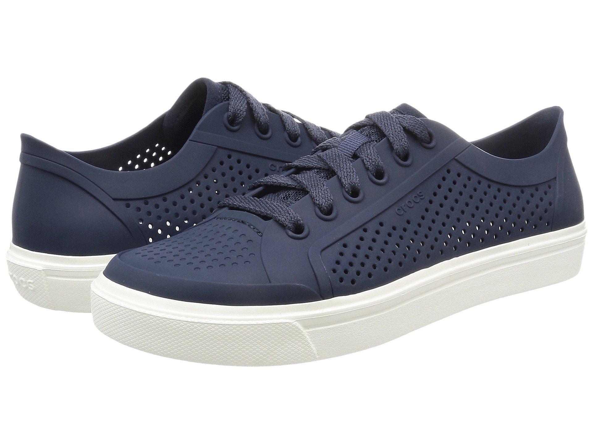 d093c89f73e Lyst - Crocs™ Citilane Roka Court Sneaker in Blue for Men - Save ...