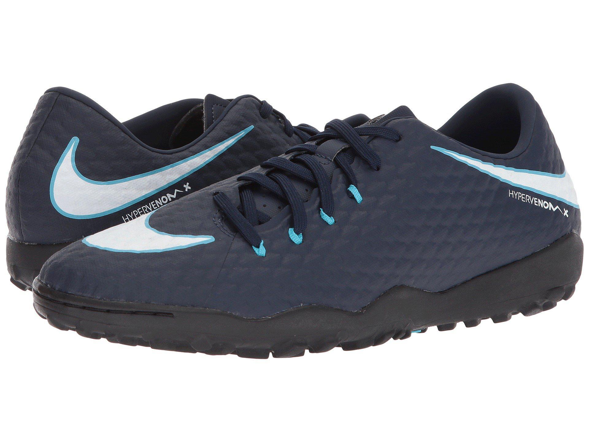 Lyst - Nike Hypervenom Phelon Iii Tf in Blue for Men - Save 33% 4197d4869