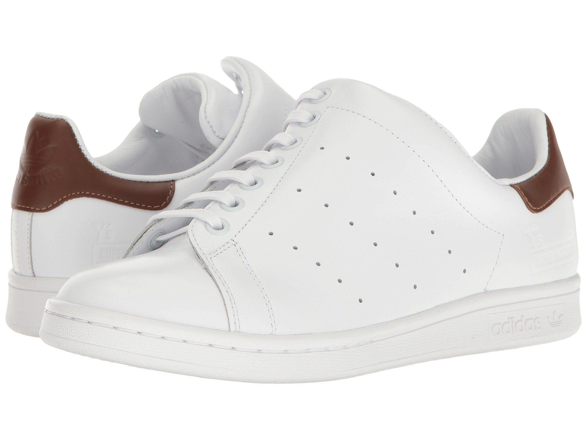 lyst y yohji yamamoto y x adidas diagonale lacci da scarpe in bianco.