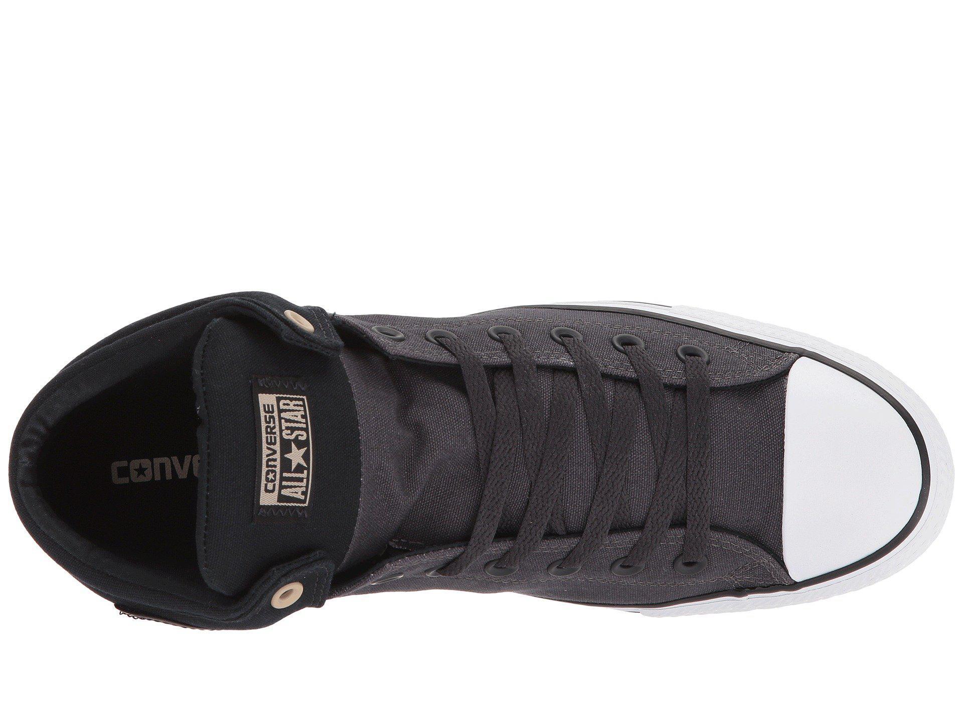 Lyst - Converse Chuck Taylor® All Star® High Street Mid in Black for Men 1eb843da2