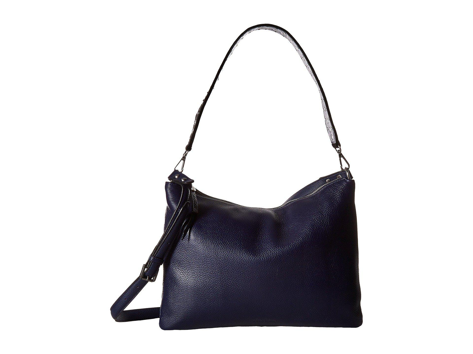 Lyst - Sam Edelman Raelyn Slouch Shoulder Bag in Blue - Save ... ec034de6a6024