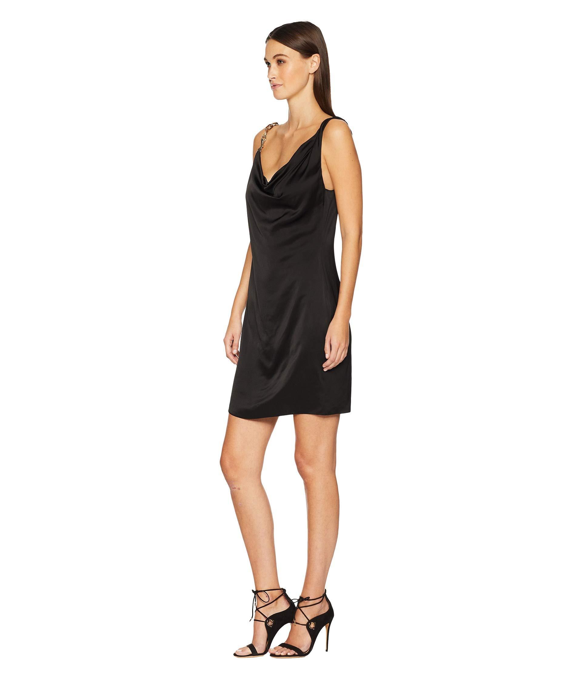 f2f9c605af80 Lyst - Versus Abito Donna Tessuto Dress in Black - Save 20%