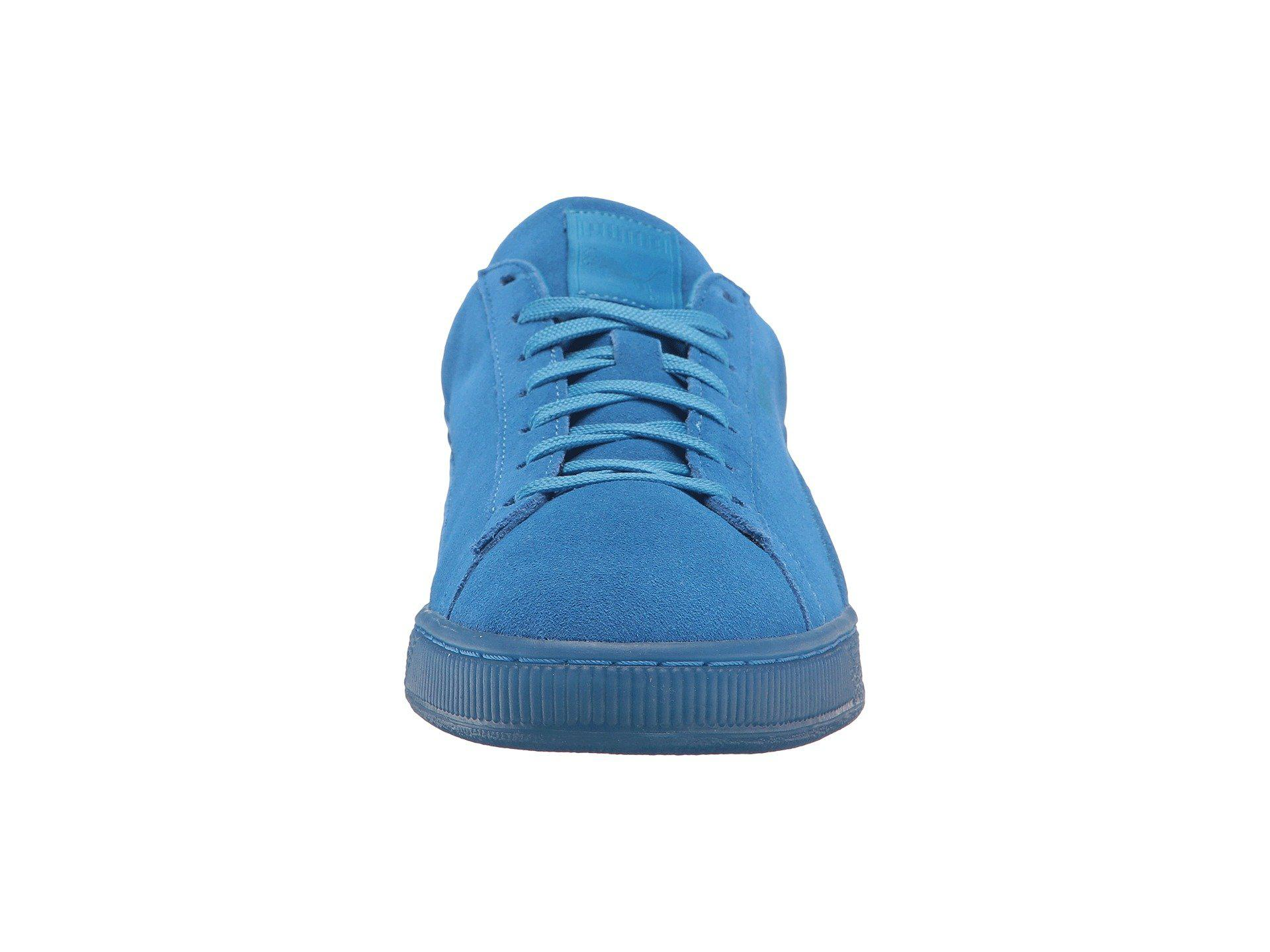 a4d51813342c PUMA - Blue Suede Classic Badged Ice for Men - Lyst. View fullscreen