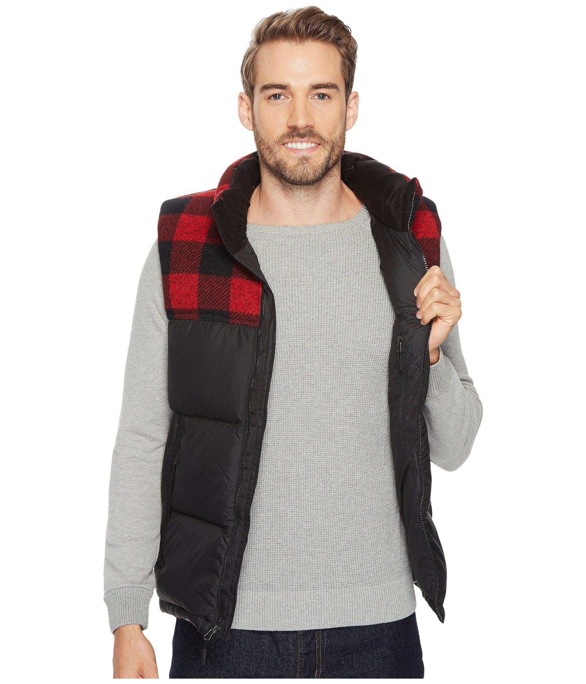 9072298ad5 Lyst - The North Face Nuptse Vest in Red for Men