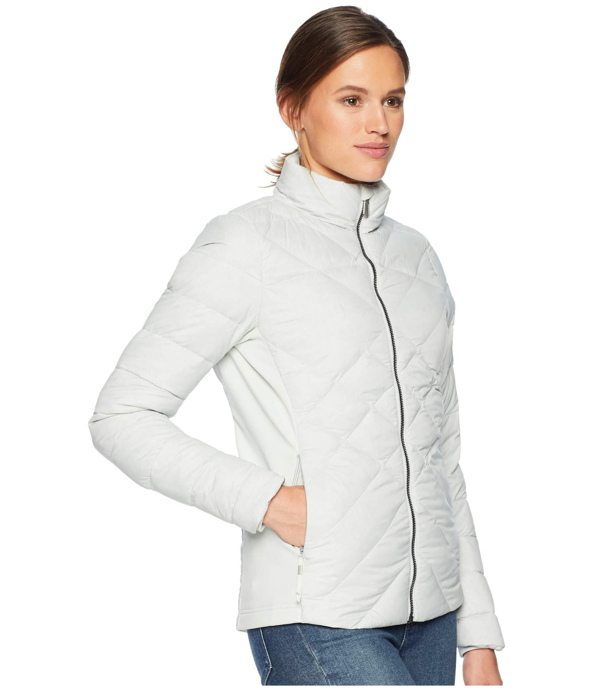 9f07361b0240 The North Face - Gray Lucia Hybrid Down Jacket - Lyst. View fullscreen