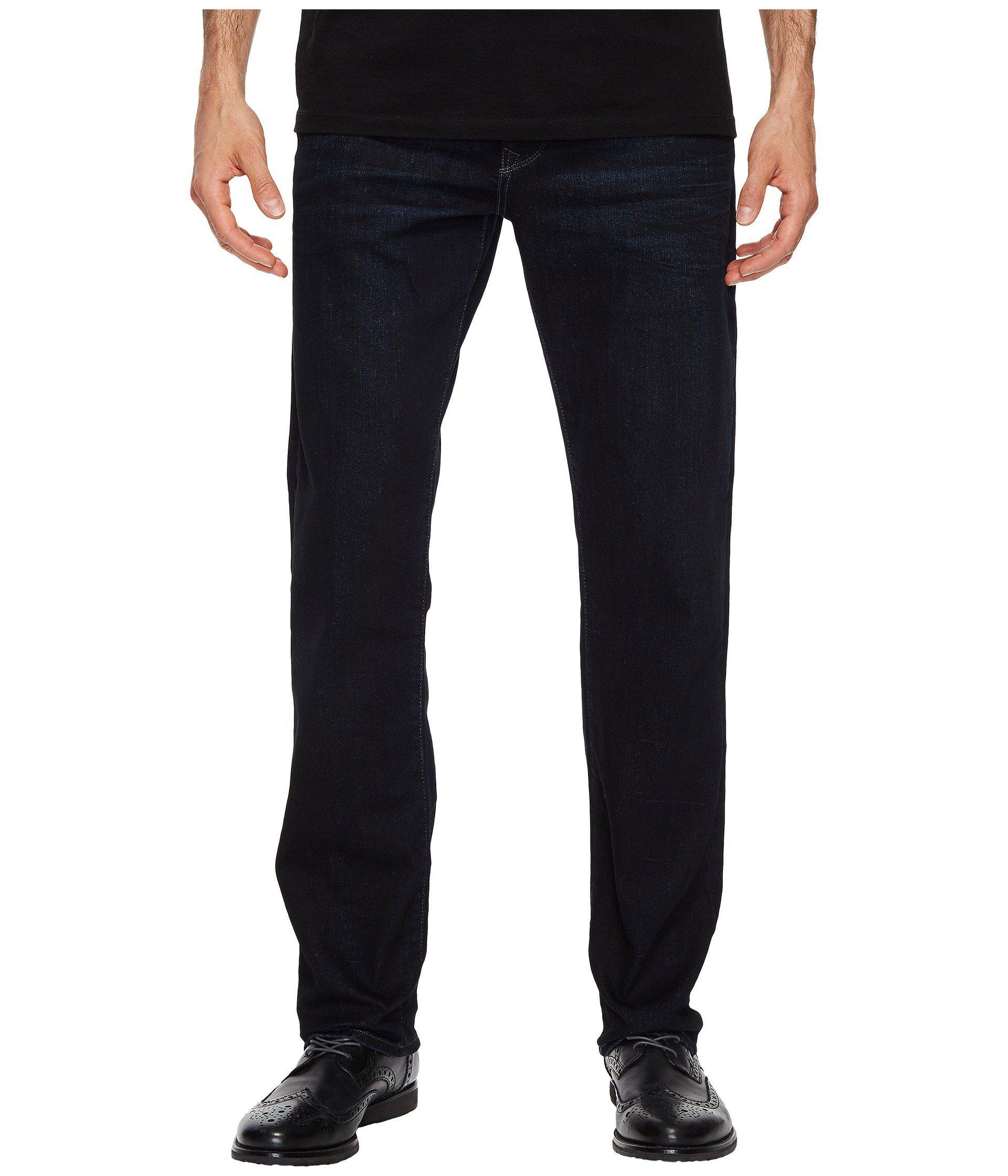 d9edefcf23b6c Mavi Jeans. Men s Blue Zach Regular Rise Straight Leg In Coated Authentic  Vintage