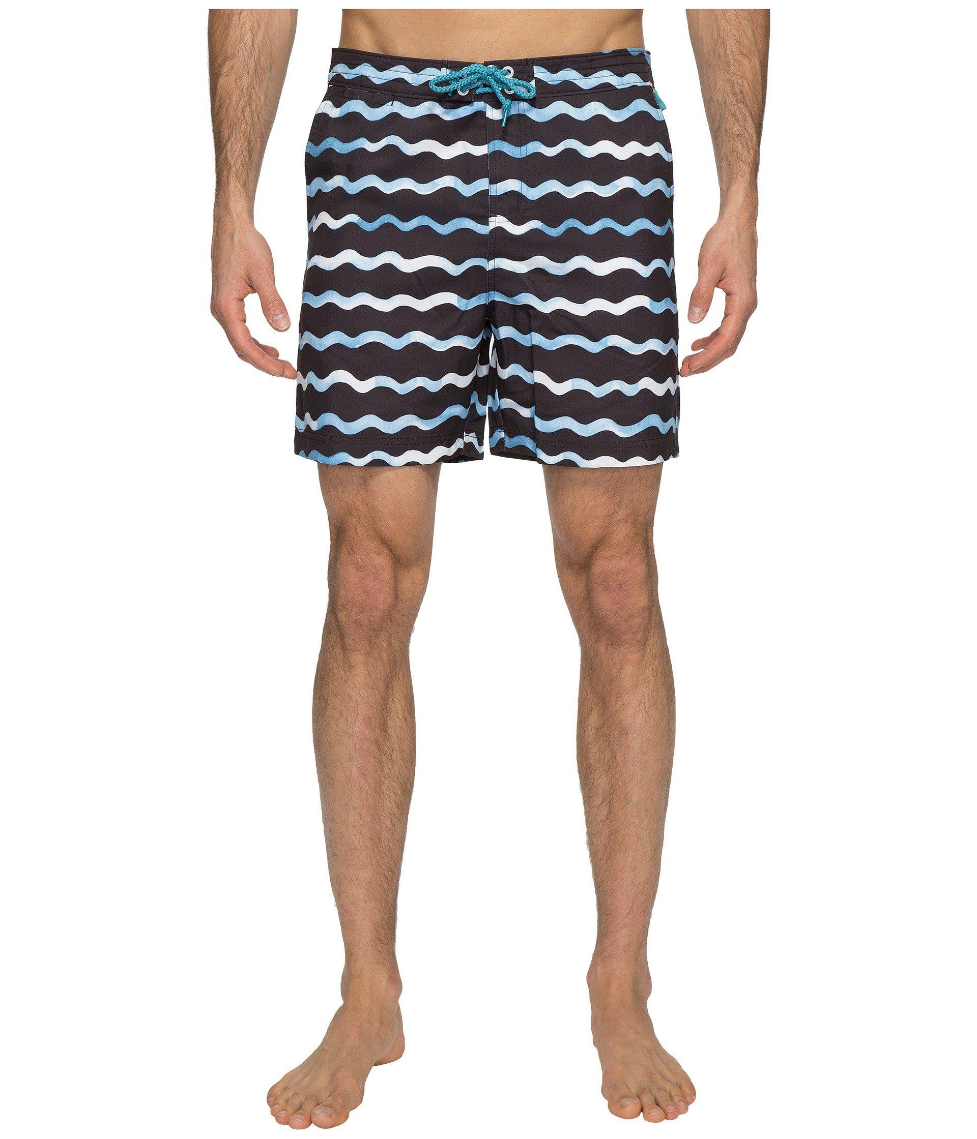 Watercolor Shorts Wave Original Blue Swim Penguin In Print Lyst gE6Tqa11
