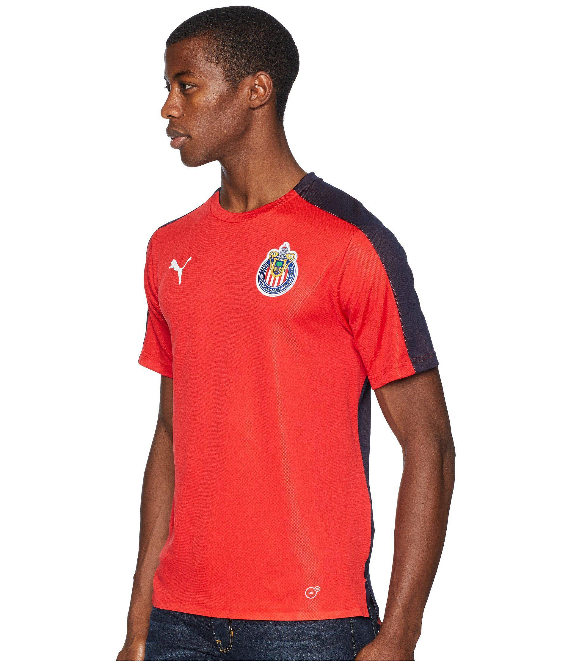 1ed03d2599c PUMA Chivas Stadium Jersey in Red for Men - Save 55% - Lyst