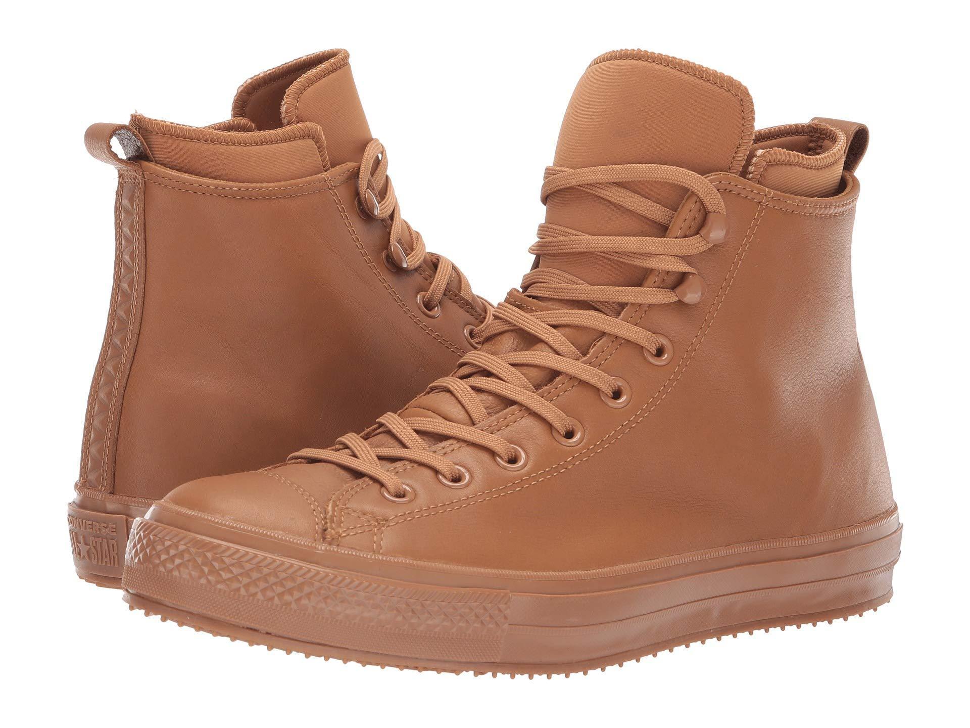 954d43e5d9d4ee Lyst - Converse Chuck Taylor All Star Waterproof Boot - Hi in Brown