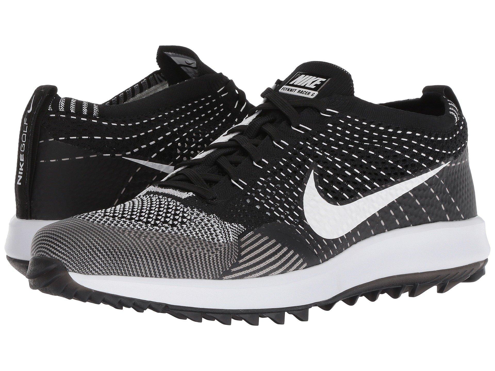 24335a6996ef8 Lyst - Nike Flyknit Racer G in Black for Men - Save 4%