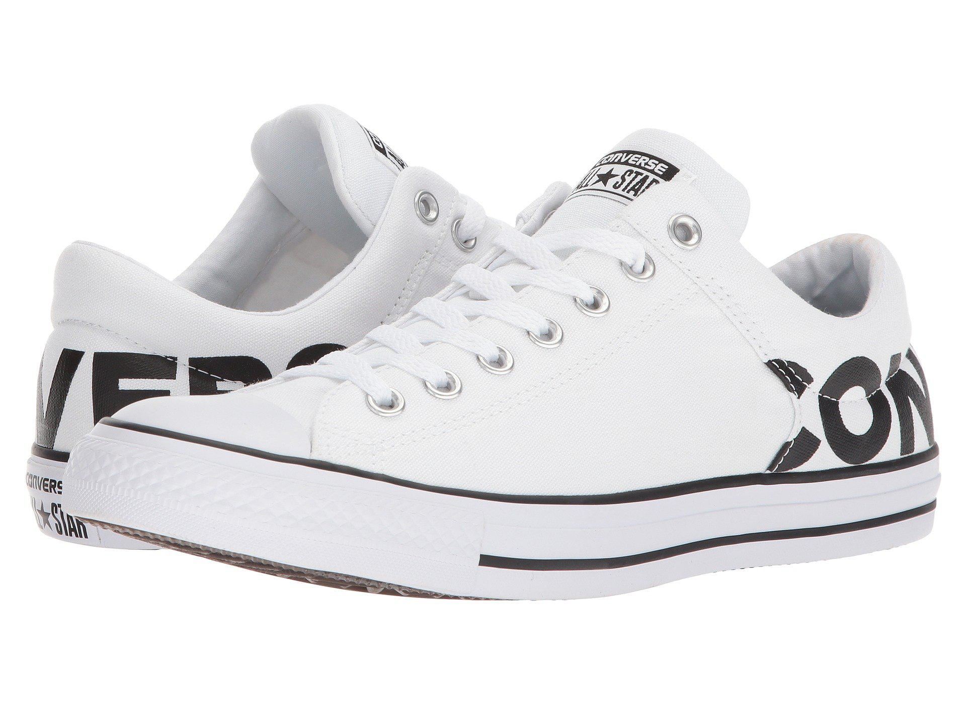 8bc6763a1859 Lyst - Converse Chuck Taylor® All Star® High Street Wordmark Ox in ...