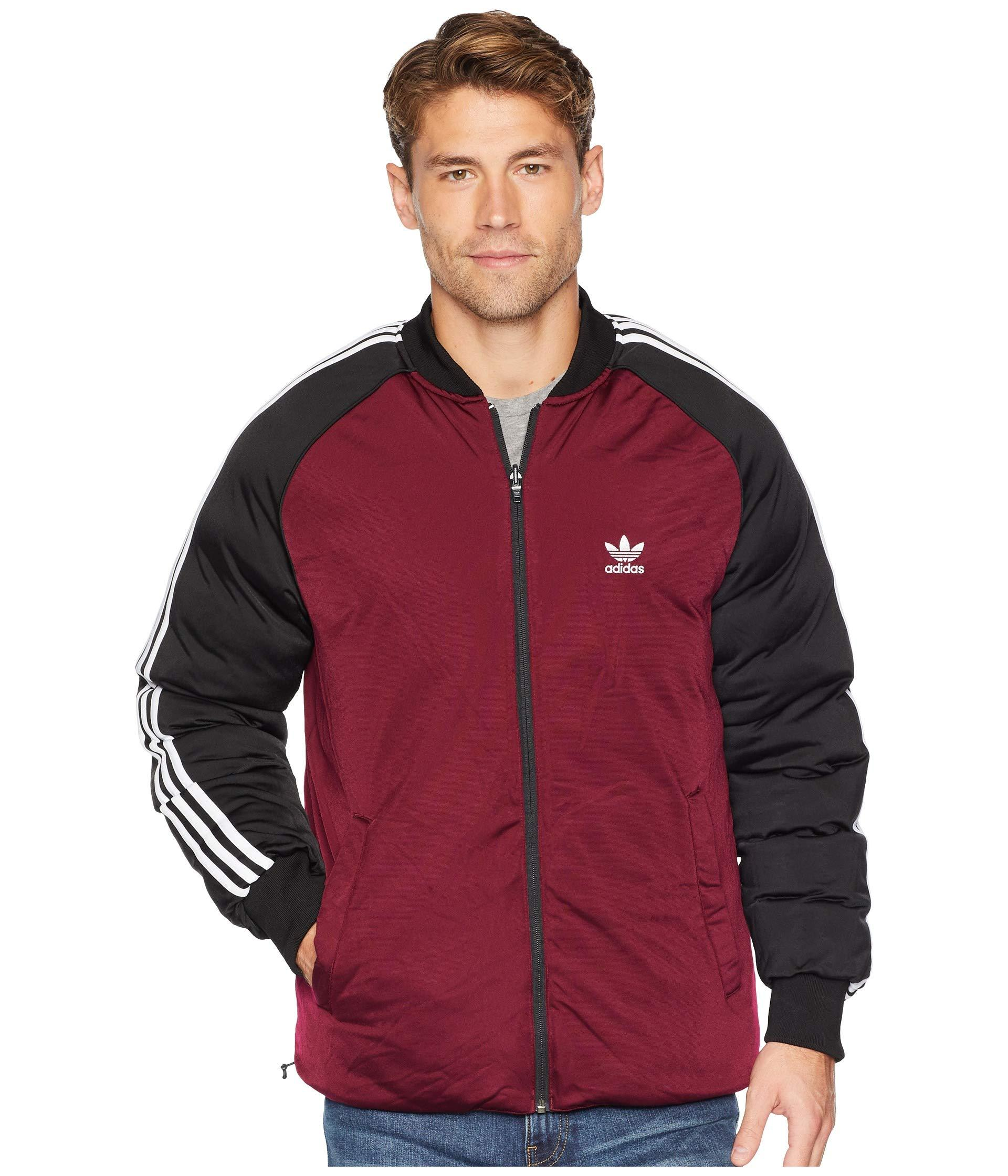 6988f00528c4 Lyst - adidas Originals Superstar Reversible Track Jacket in Black ...
