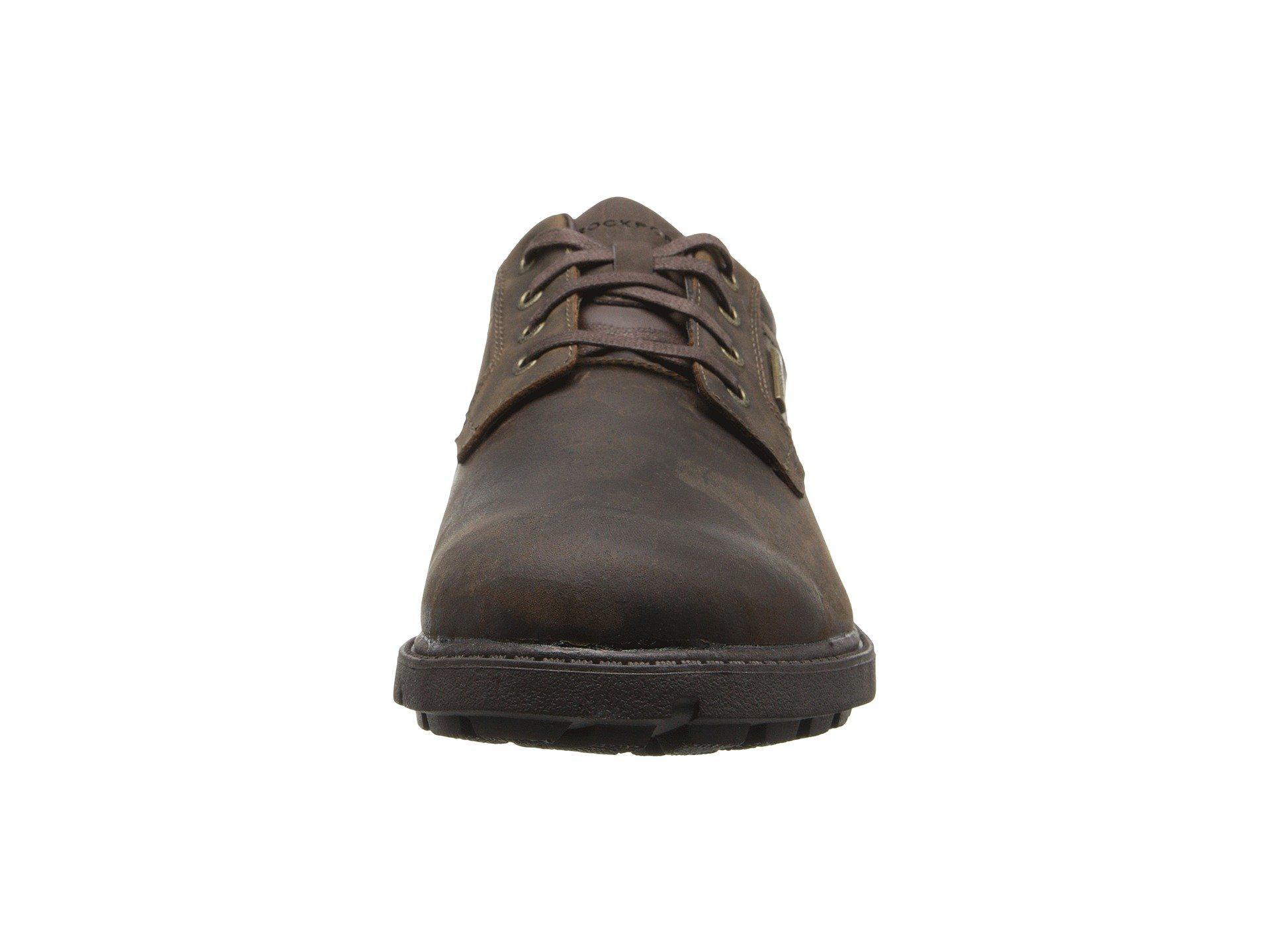 b11548f1732a Rockport - Brown Storm Surge Water Proof Plain Toe Oxford for Men - Lyst.  View fullscreen