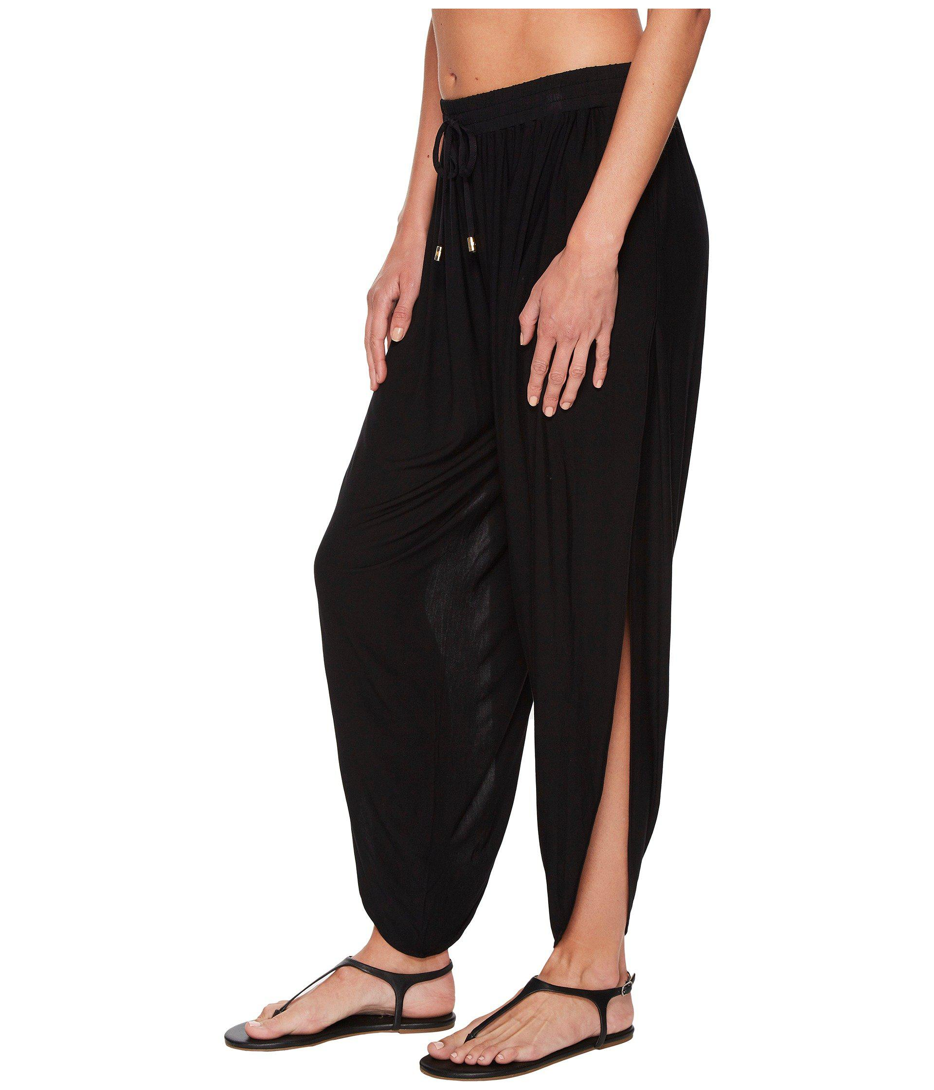 731b697adfd Lyst - Laundry by Shelli Segal Drape Cover-up Pant in Black