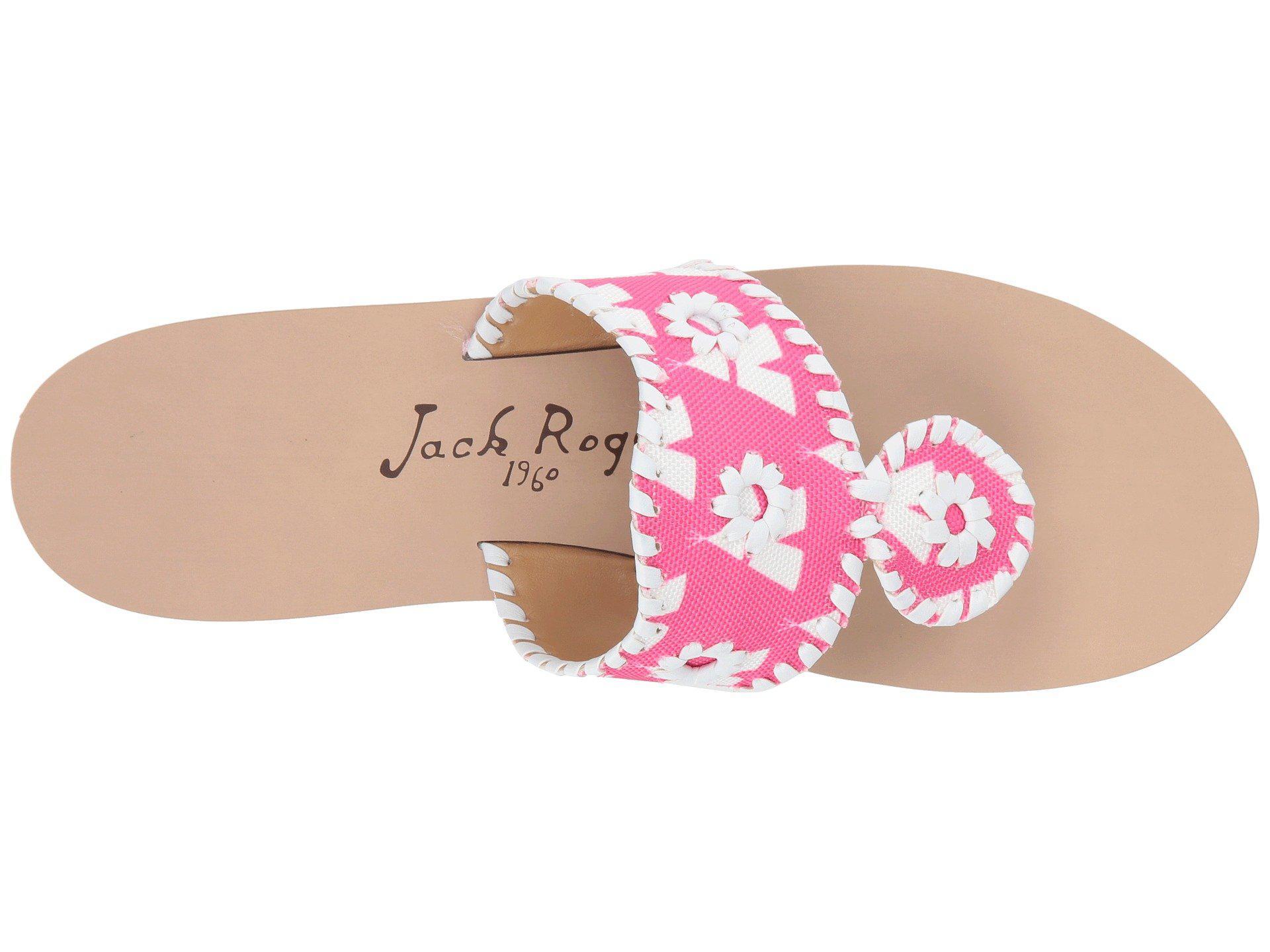 7350c532c8477 Lyst - Jack Rogers Captiva in Pink