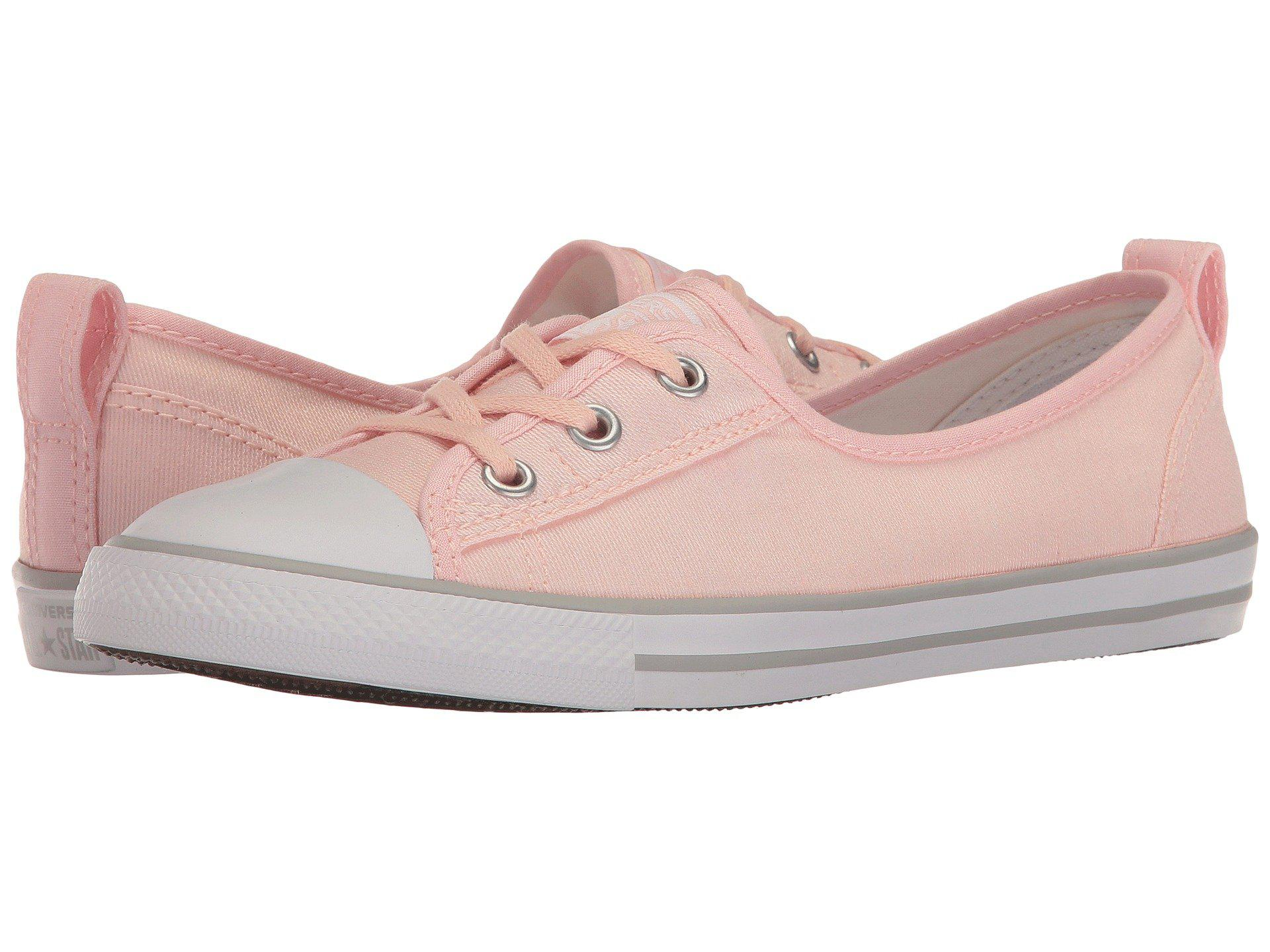 4c67acc4ad97 Lyst - Converse Chuck Taylor® All Star® Ballet Lace Slip-on in Pink