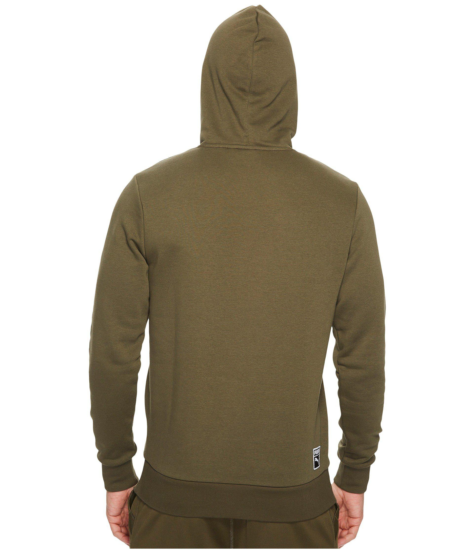f63e46471732 Lyst - PUMA Archive Embossed Logo Hoodie in Green for Men