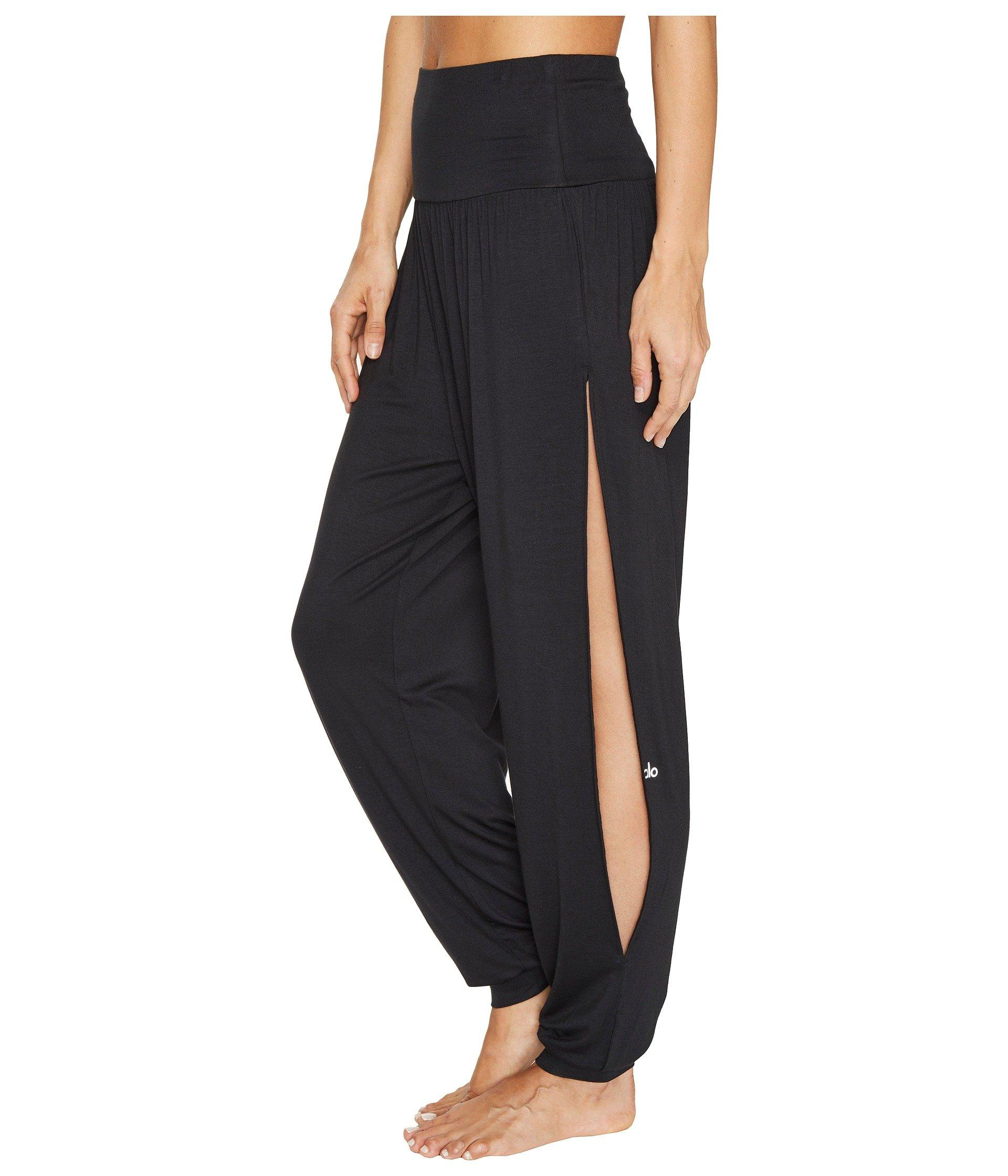 348e225472117 Alo Yoga Intention Pants in Black - Lyst