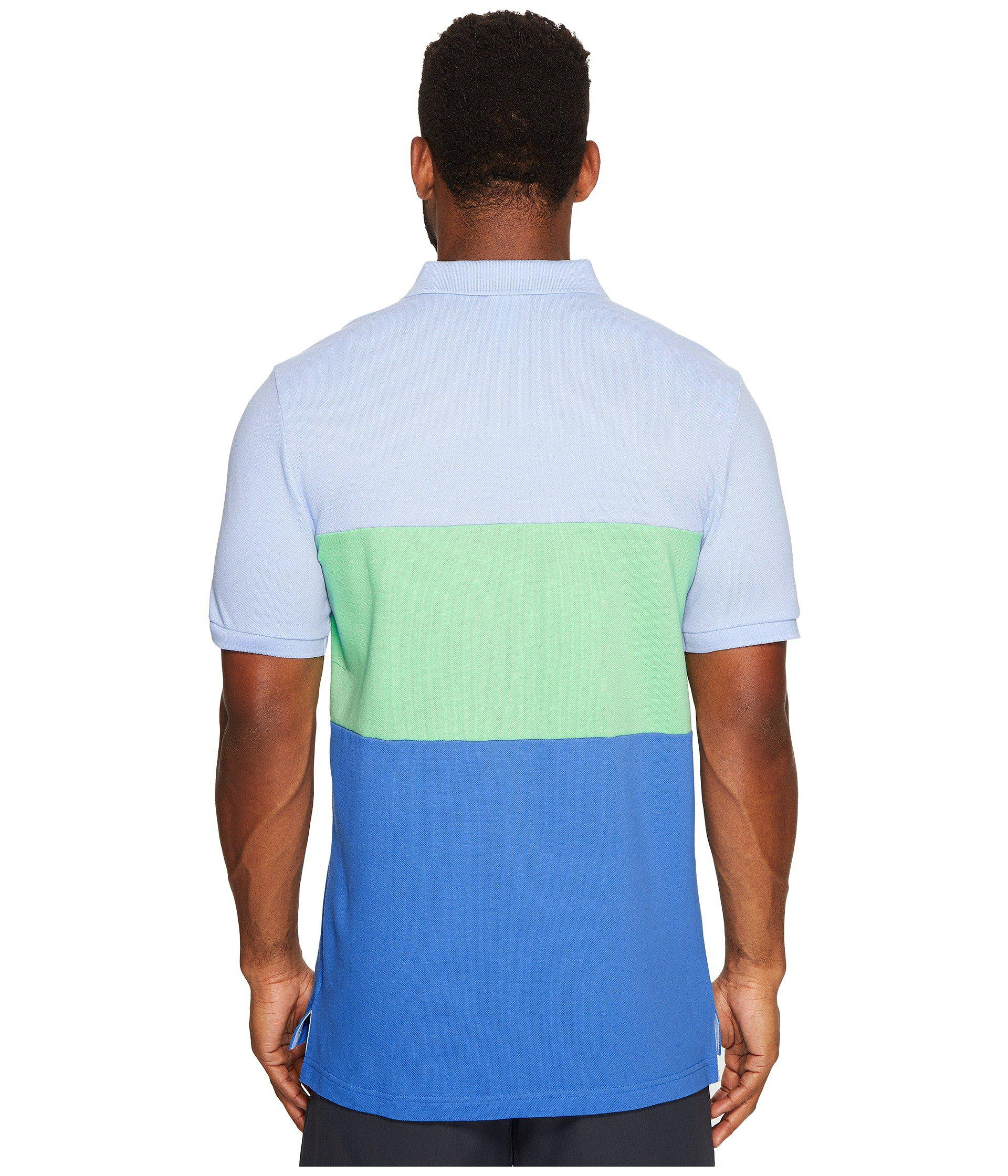 910ceaf9e Nike Matchup Color Block Polo in Blue for Men - Lyst