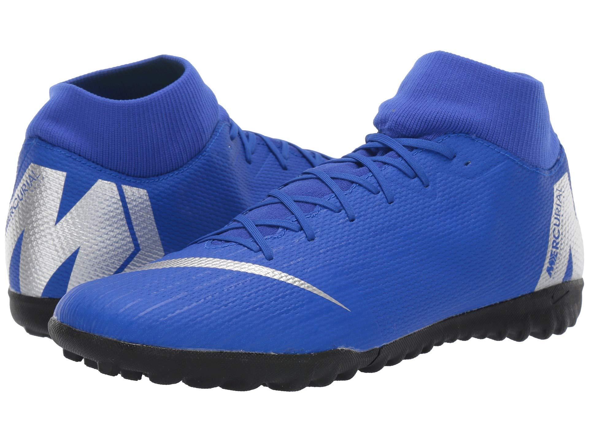 ec7d5dbce793 Nike Superflyx 6 Academy Tf in Blue for Men - Lyst