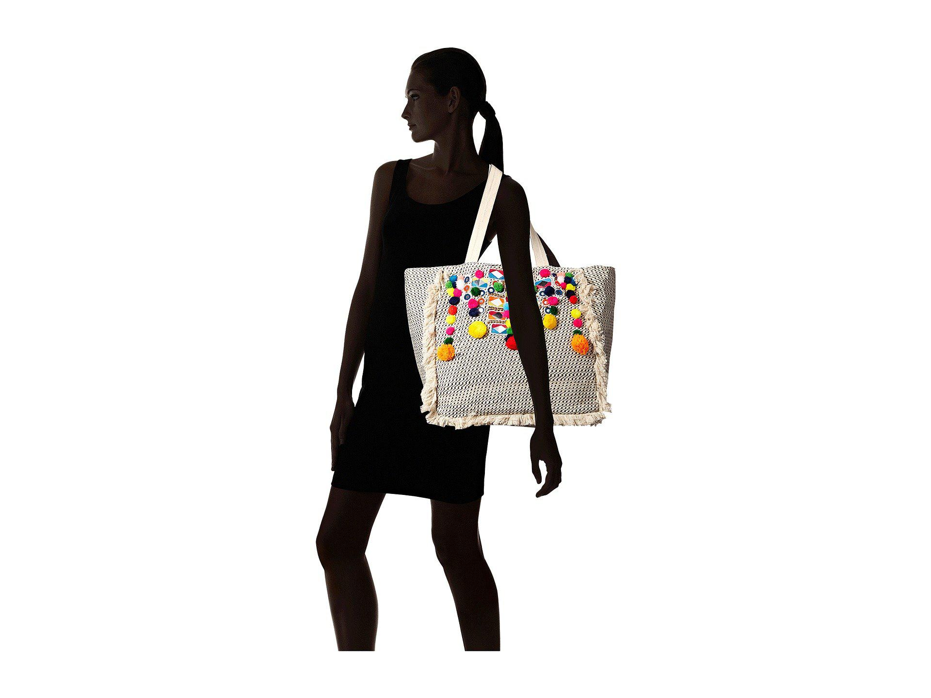 c6d2d9784aaa Circus by Sam Edelman - Multicolor Adriana Embellished Tote - Lyst. View  fullscreen