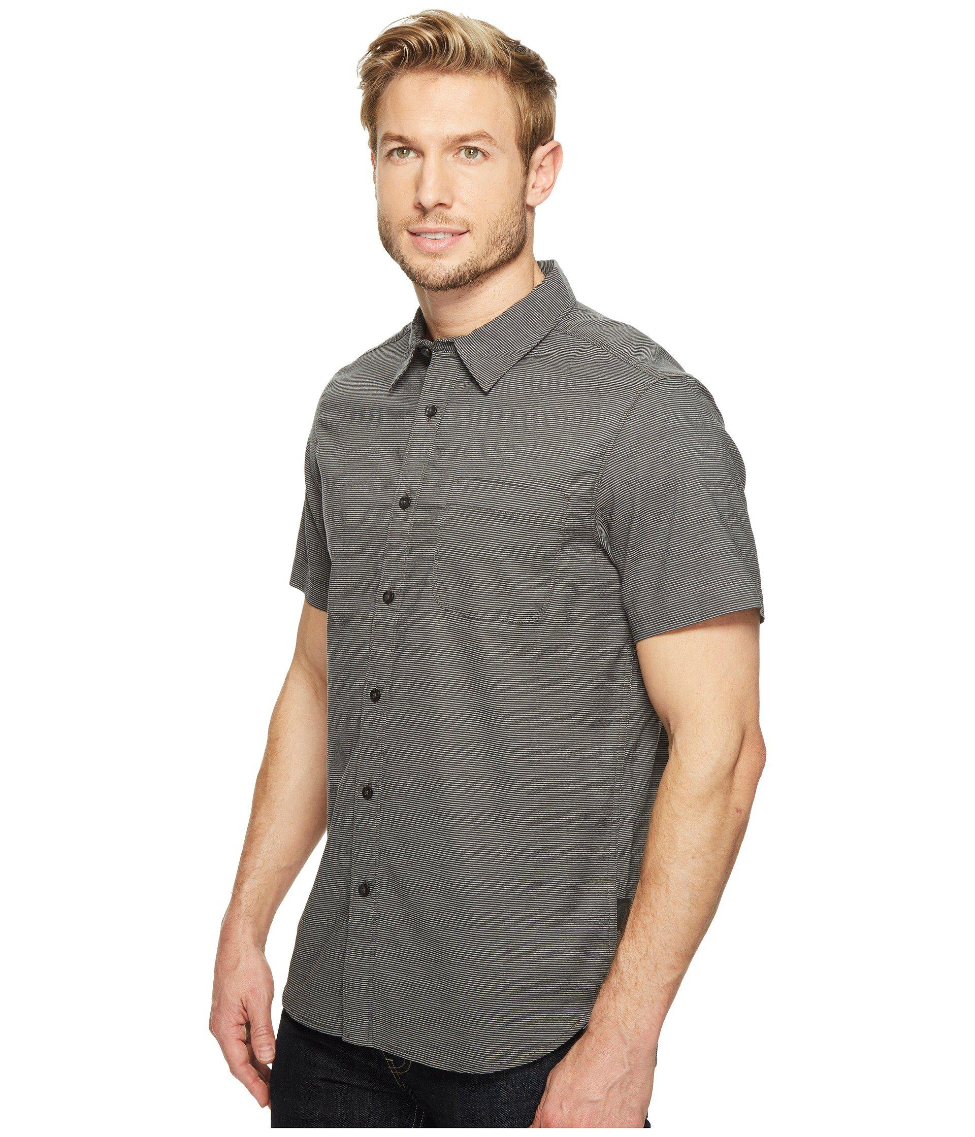 0b5b1136f Lyst - The North Face Short Sleeve On Sight Shirt in Gray for Men ...