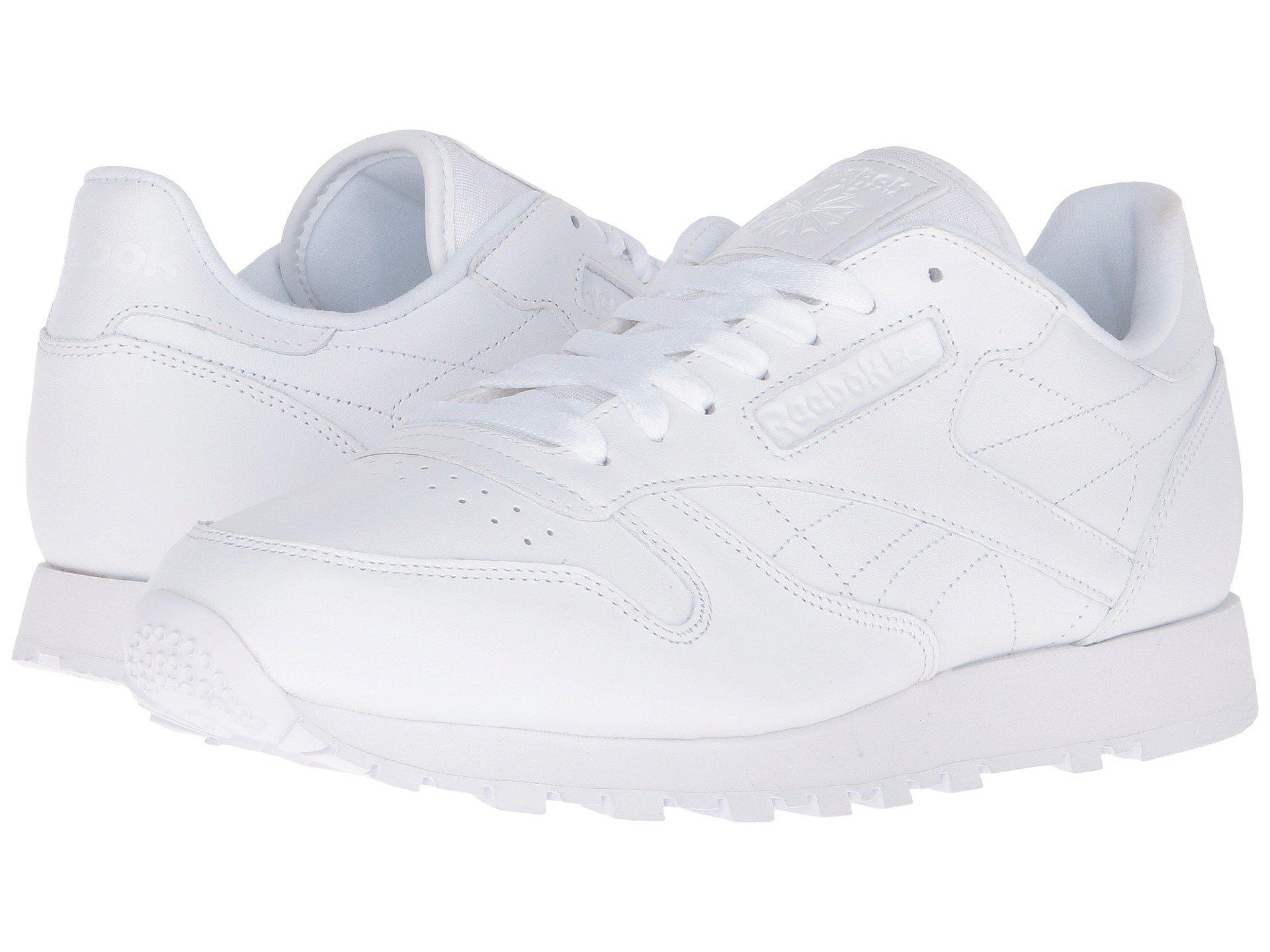 Reebok. Men's White Classic Leather Ctm