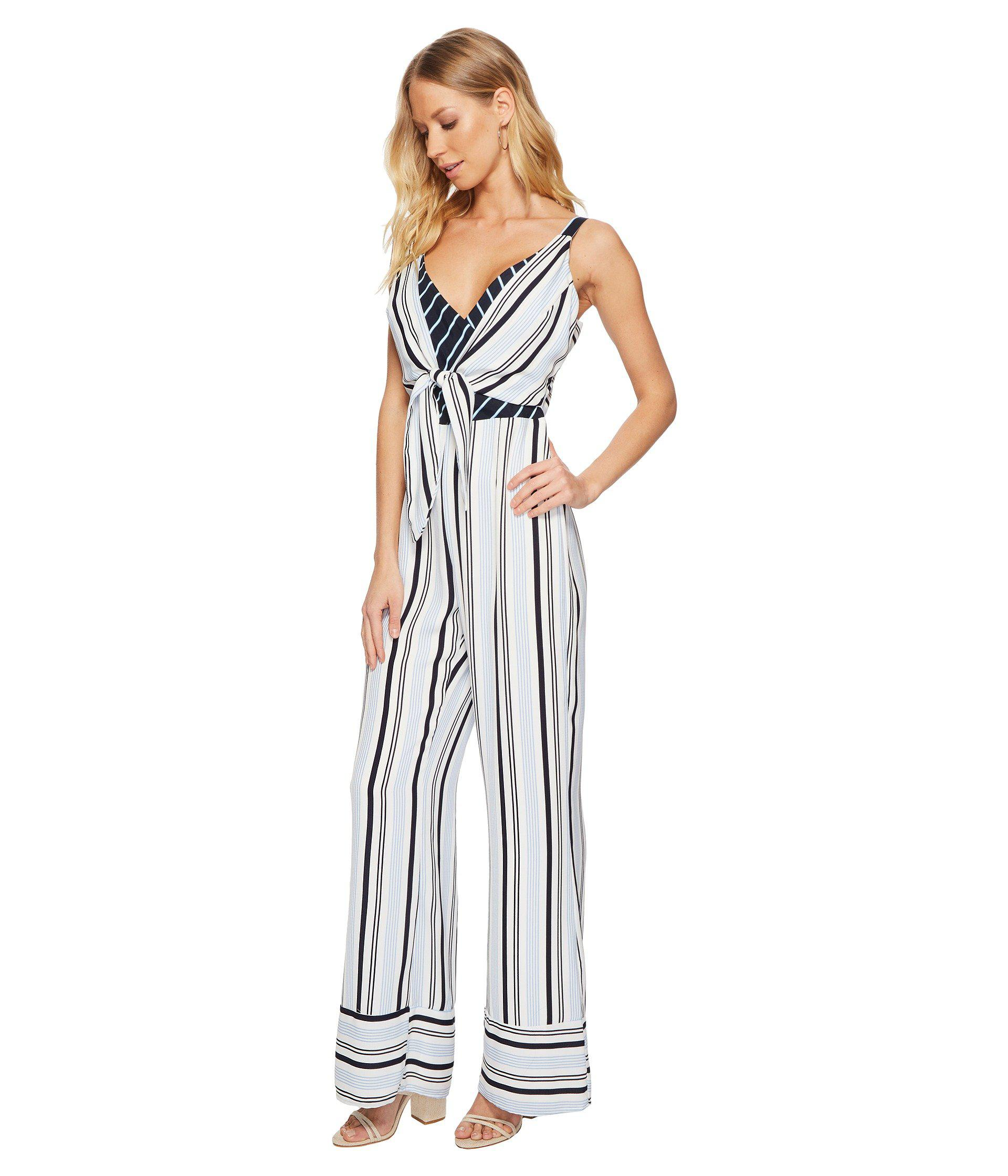 beb5ac5d059a Lyst - Adelyn Rae Ava Jumpsuit in Blue - Save 71%