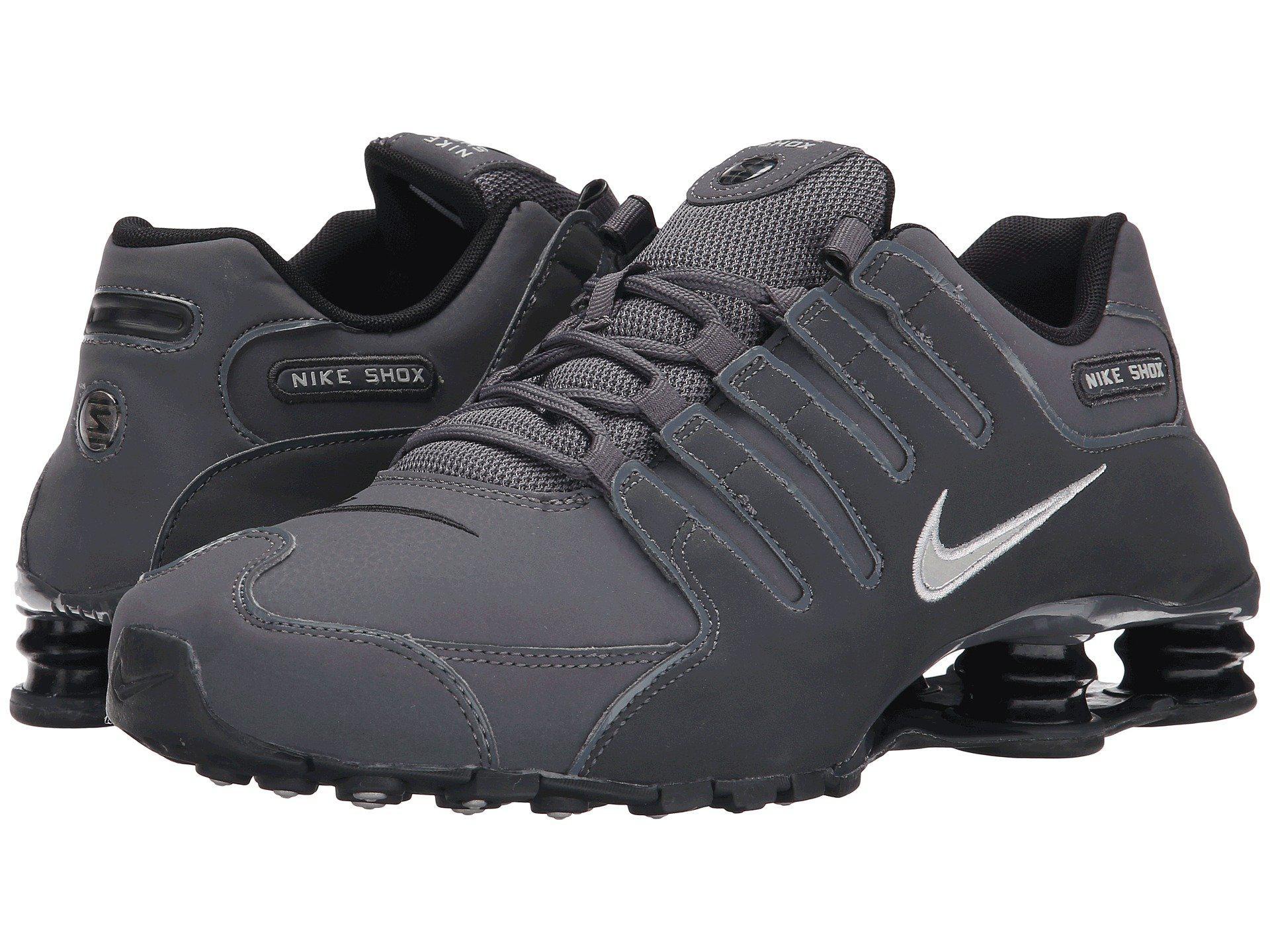 buy online 4ad56 893e5 ... czech lyst nike shox nz in gray for men 89435 352ec