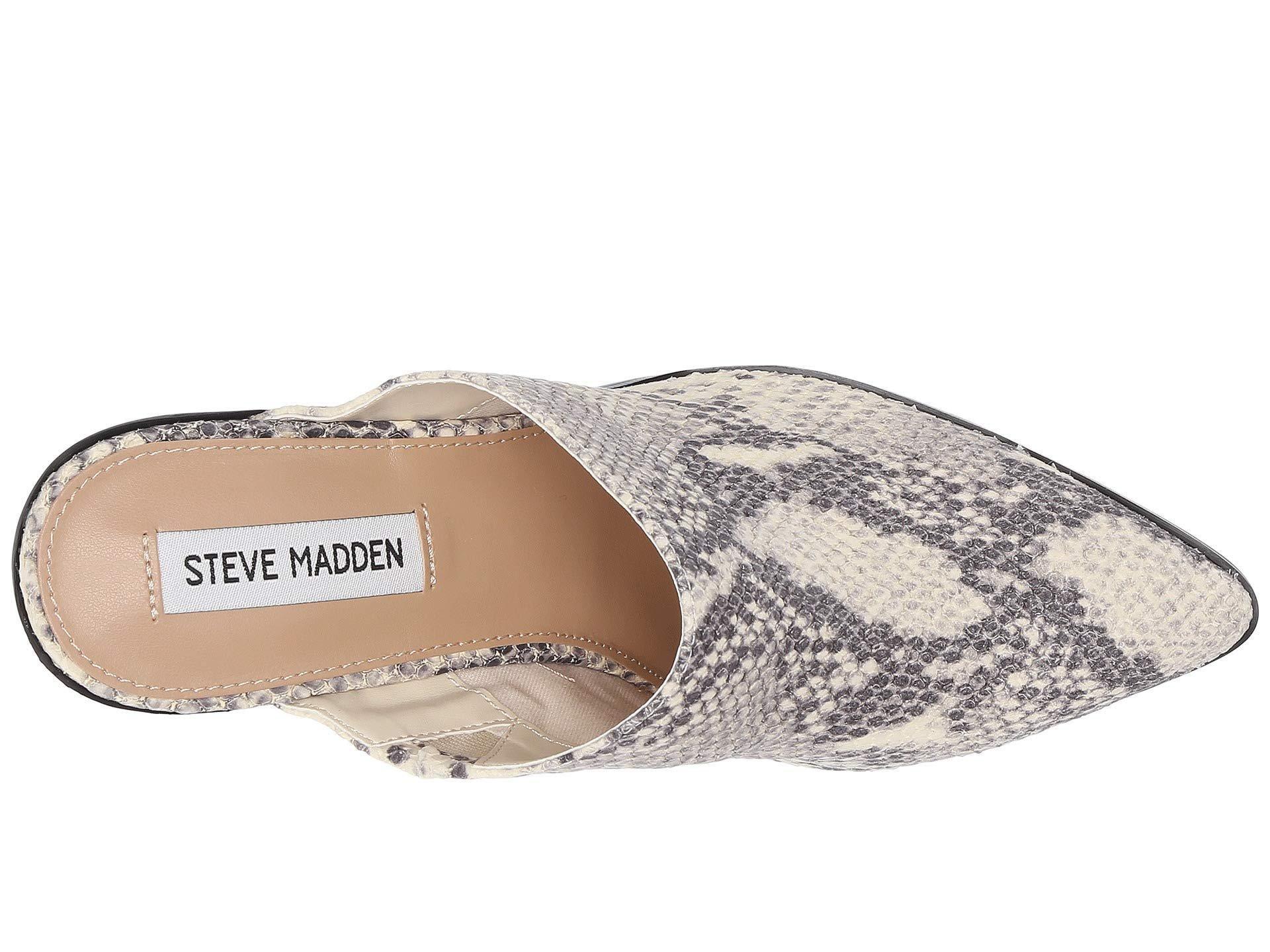 aab08d0c0ec Steve Madden - Multicolor Savina Mule - Lyst. View fullscreen