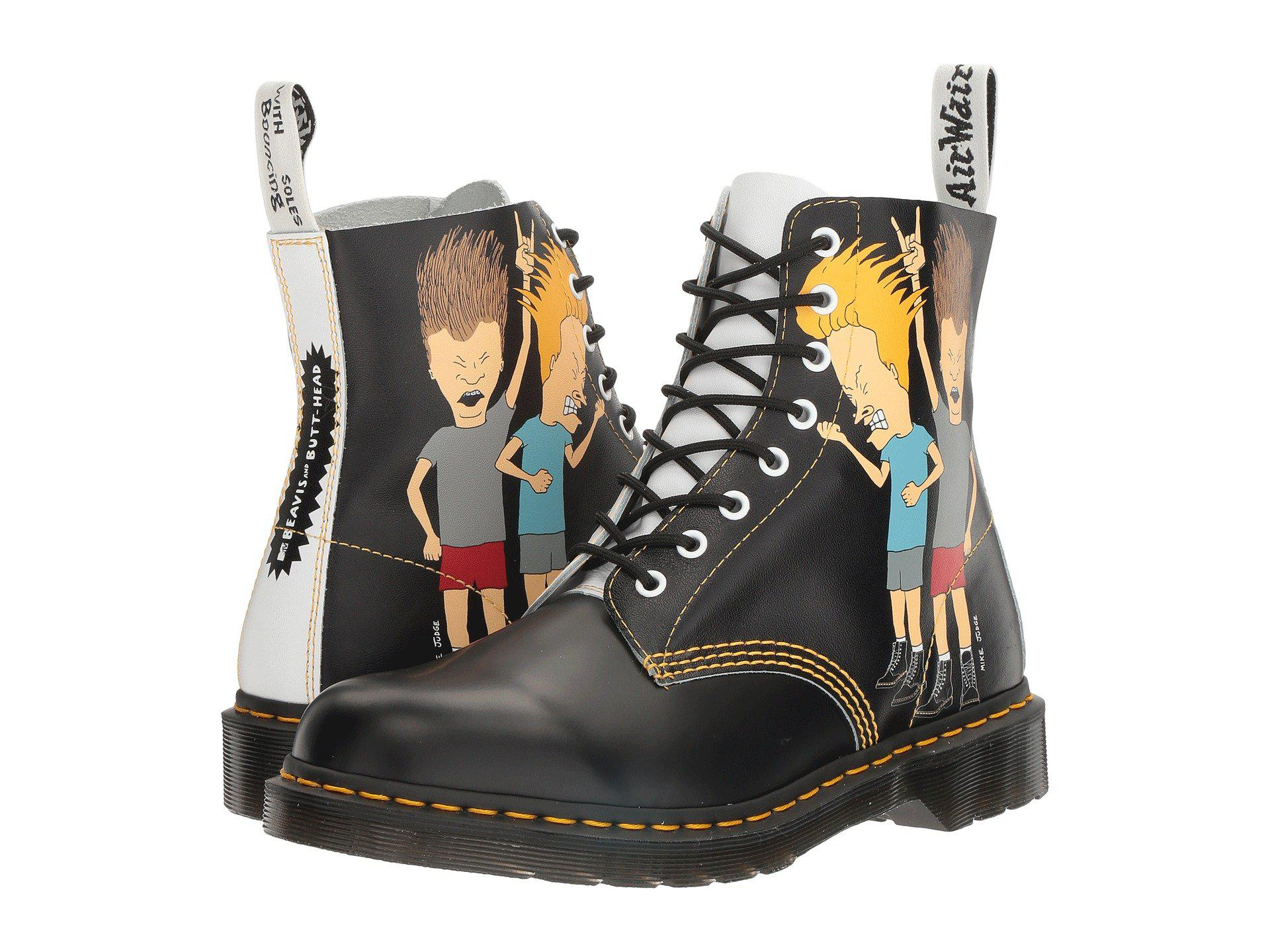 6f83ae00fc625 Dr. Martens Beavis And Butt-head Pascal in Black - Lyst