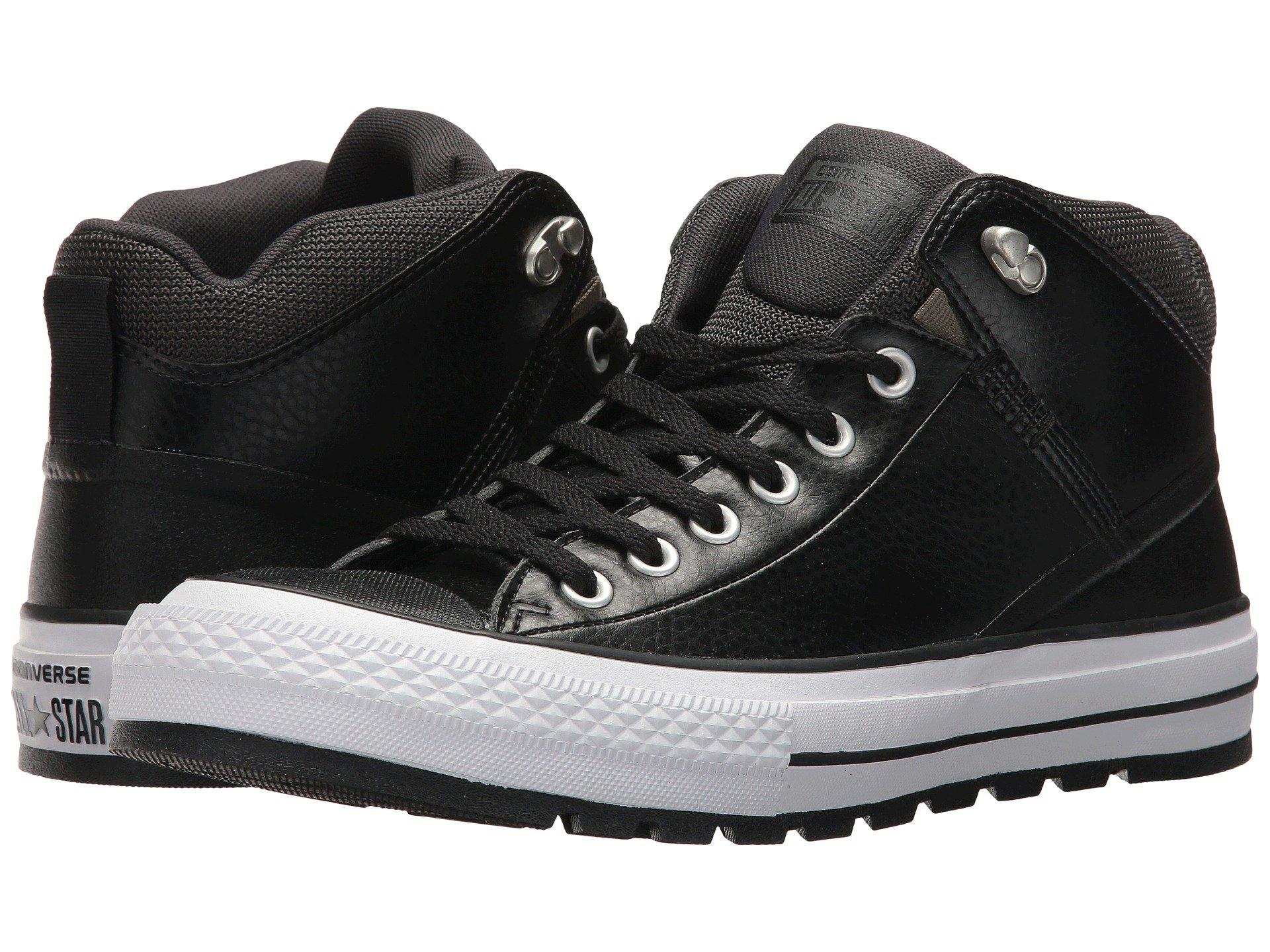 70be99facf6f Lyst - Converse Chuck Taylor® All Star® Street Boot Leather Hi in ...